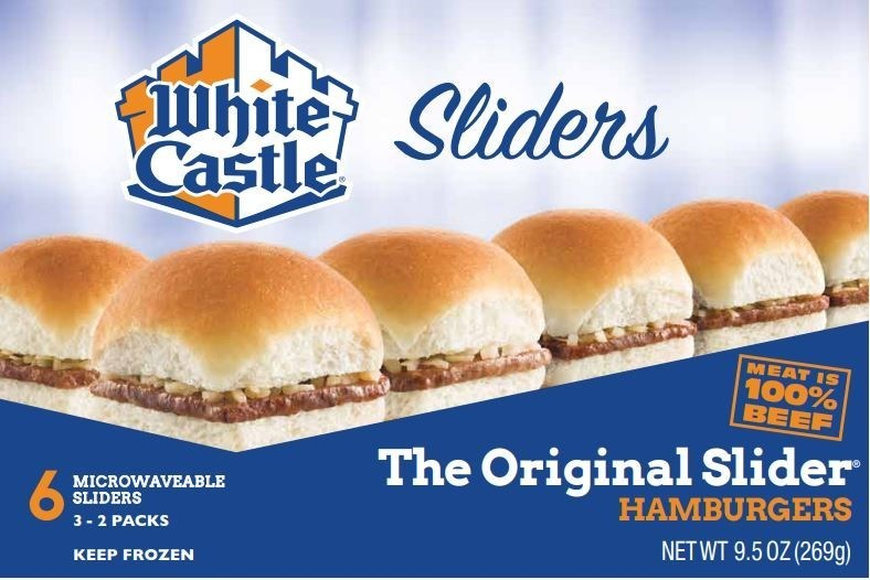White Castle has issued a recall of its frozen hamburgers and cheeseburgers, available at area retailers.