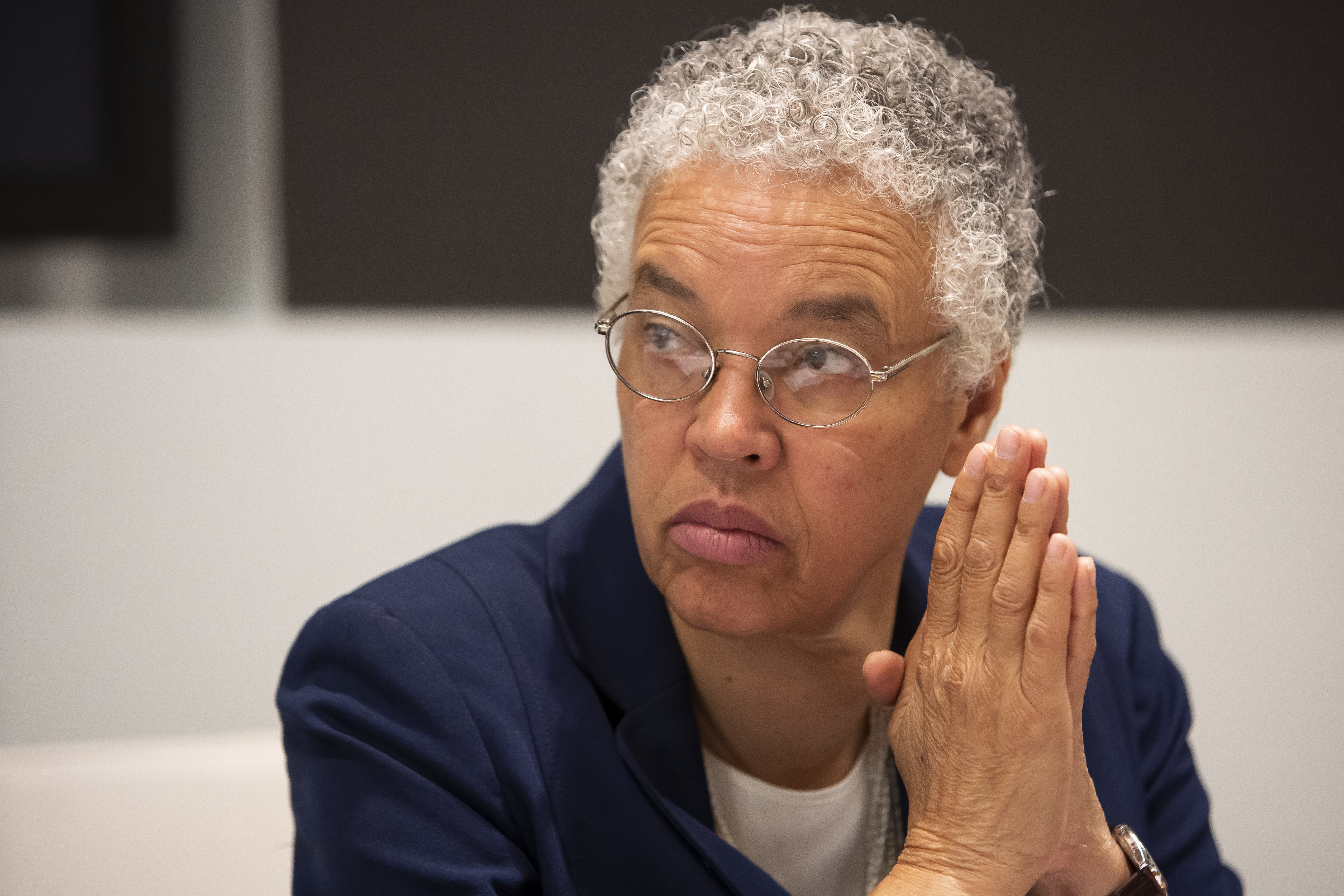 Cook County Board President Toni Preckwinkle met with the Sun-Times Editorial Board October 10, 2019.