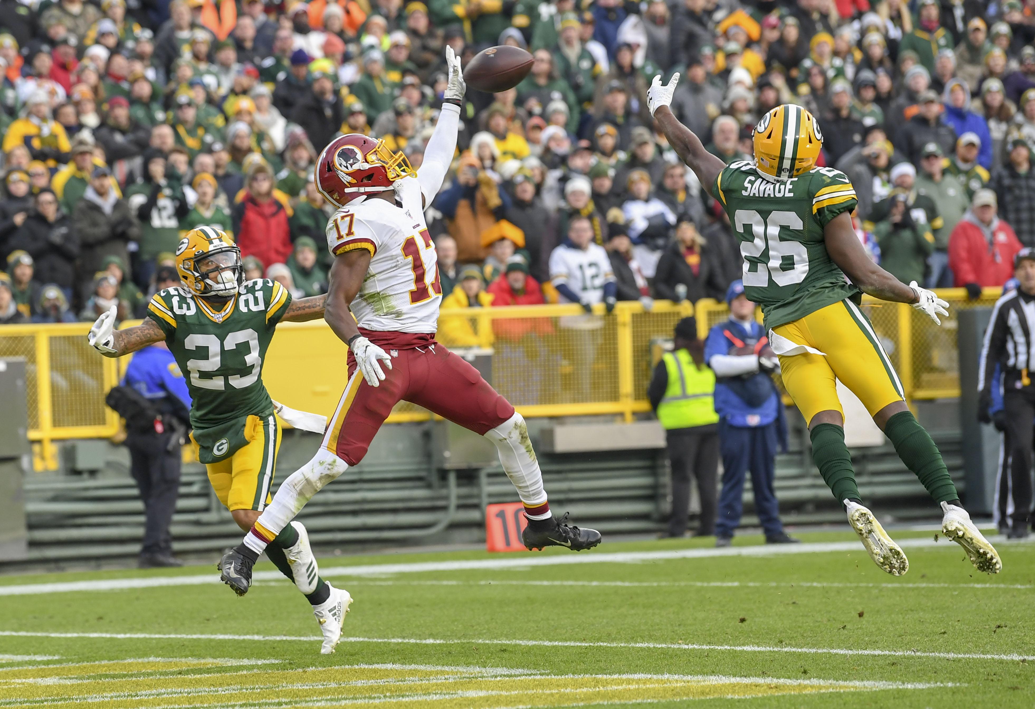 NFL-Washington Redskins at Green Bay Packers