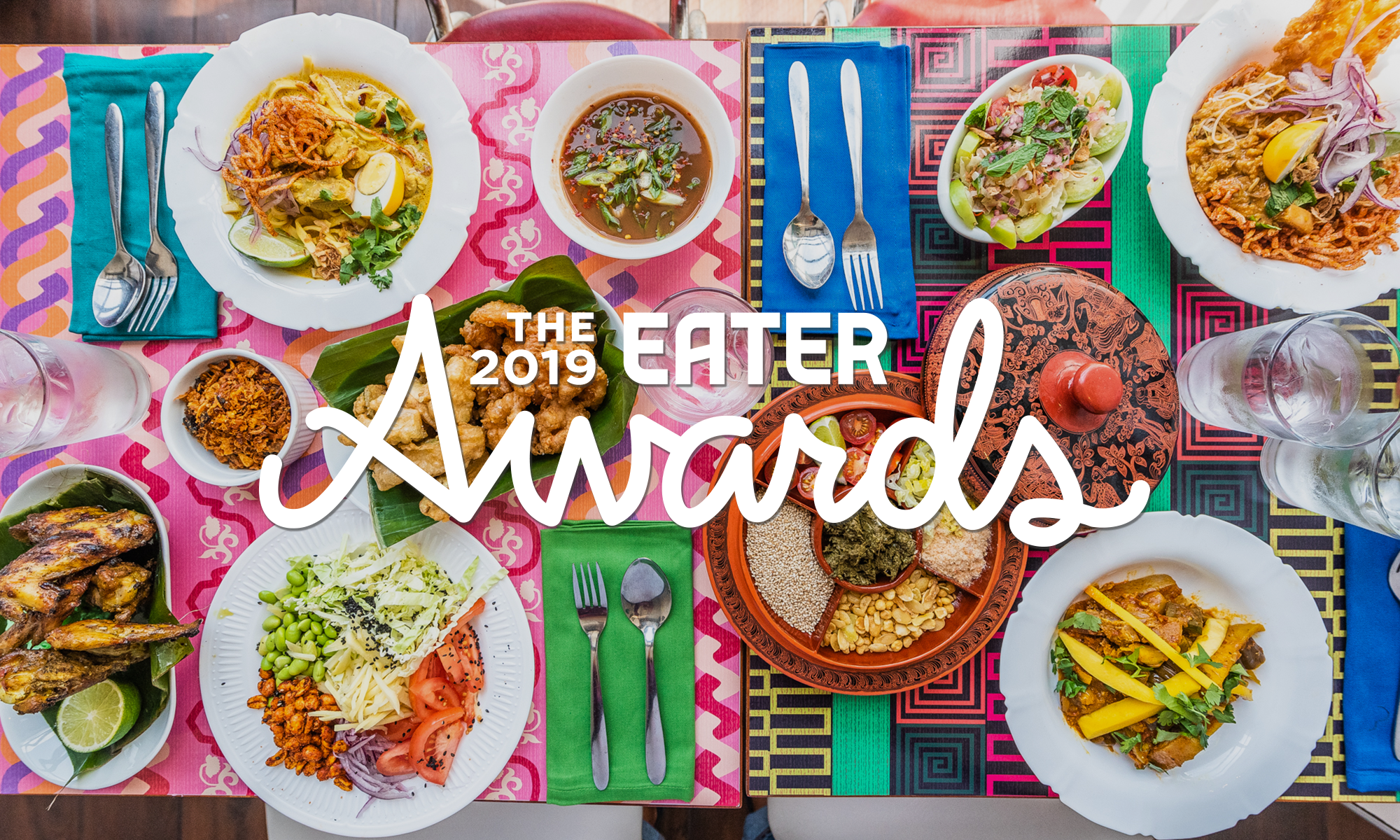 Burmese dishes from Thamee, Eater D.C.'s 2019 Restaurant of the Year