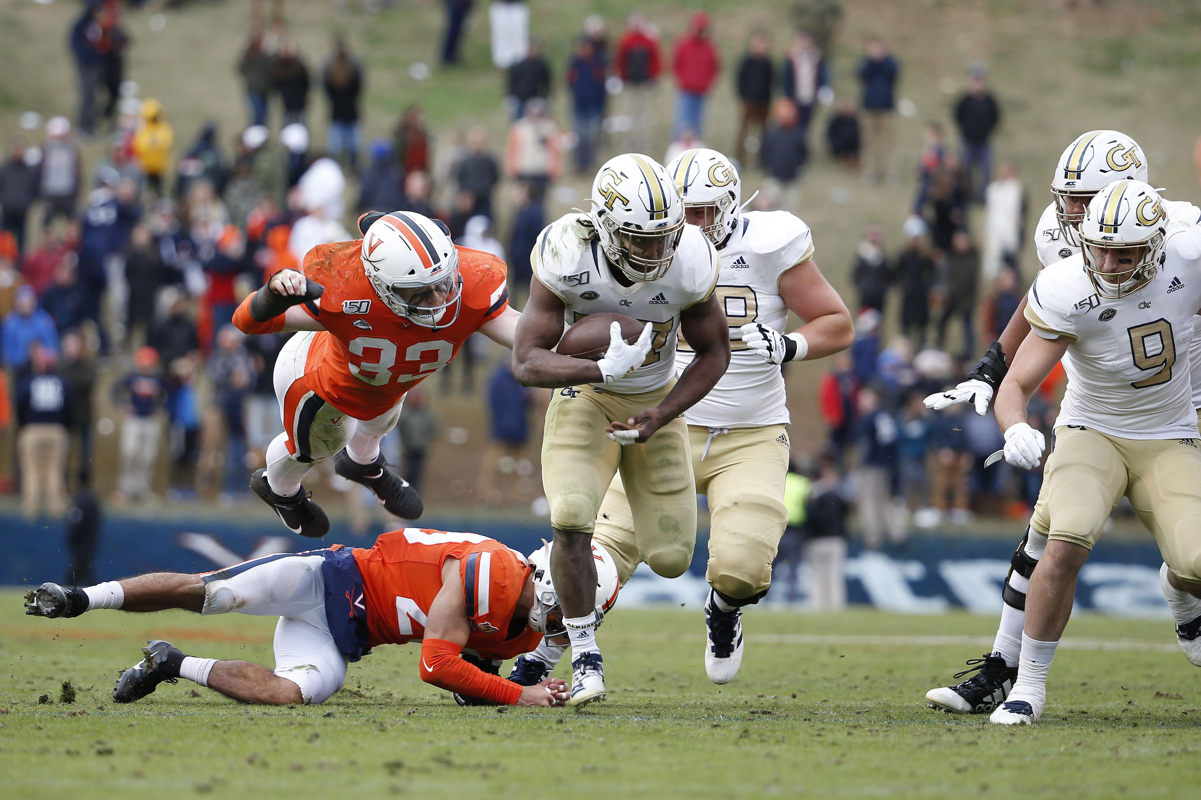 NCAA Football: Georgia Tech at Virginia