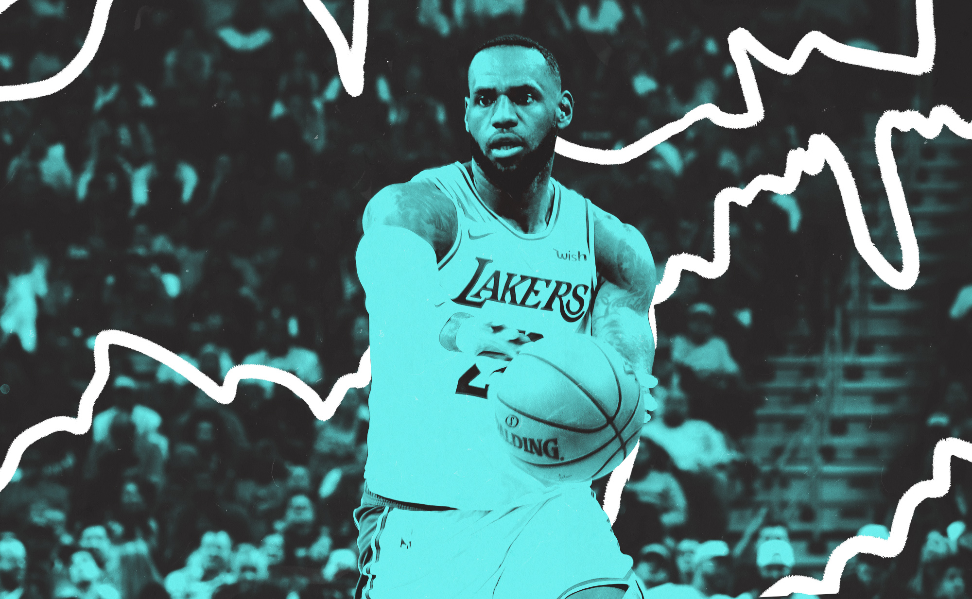 LeBron James is a genius passer, and it's solving every Lakers problem