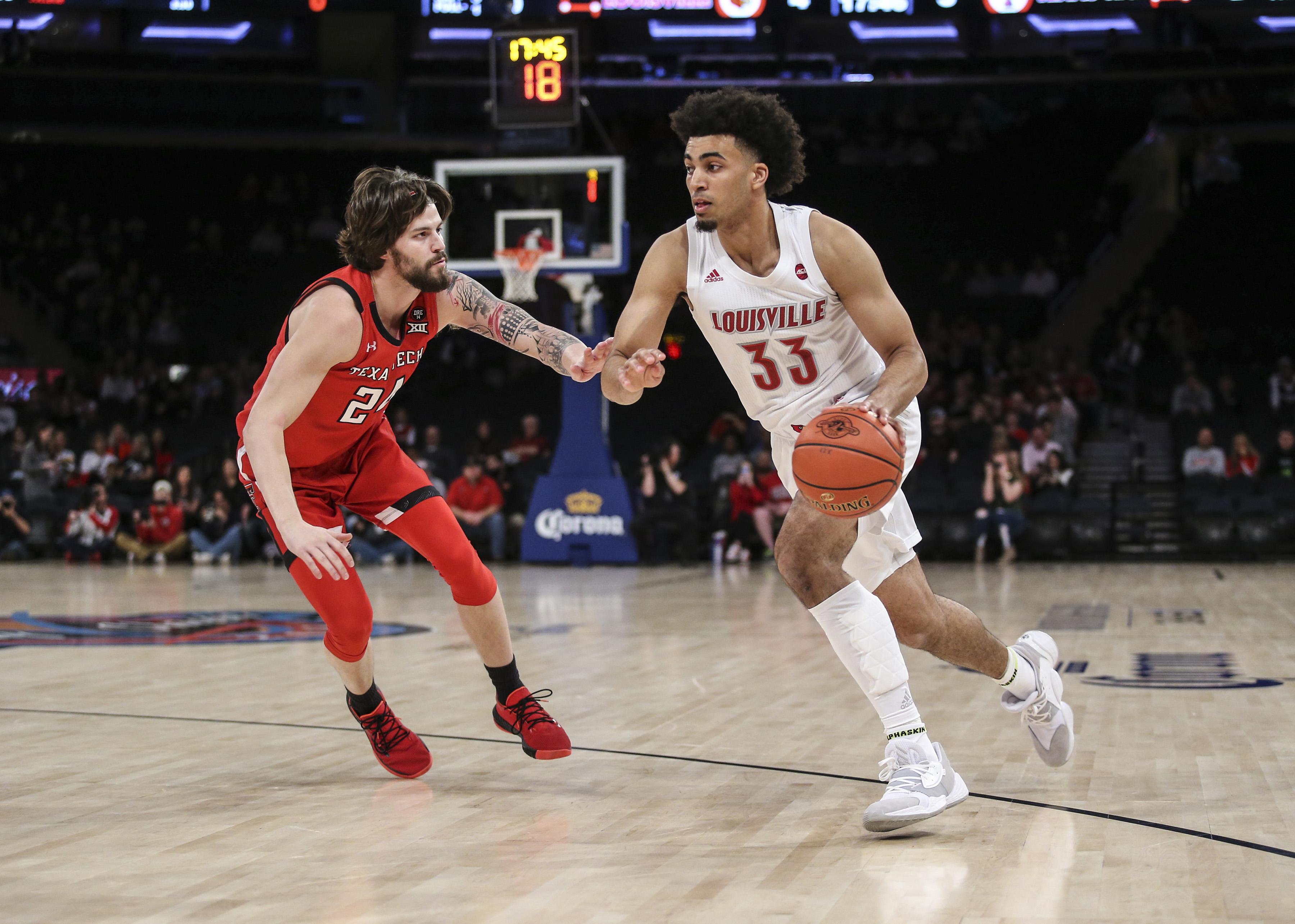 NCAA Basketball: Texas Tech at Louisville