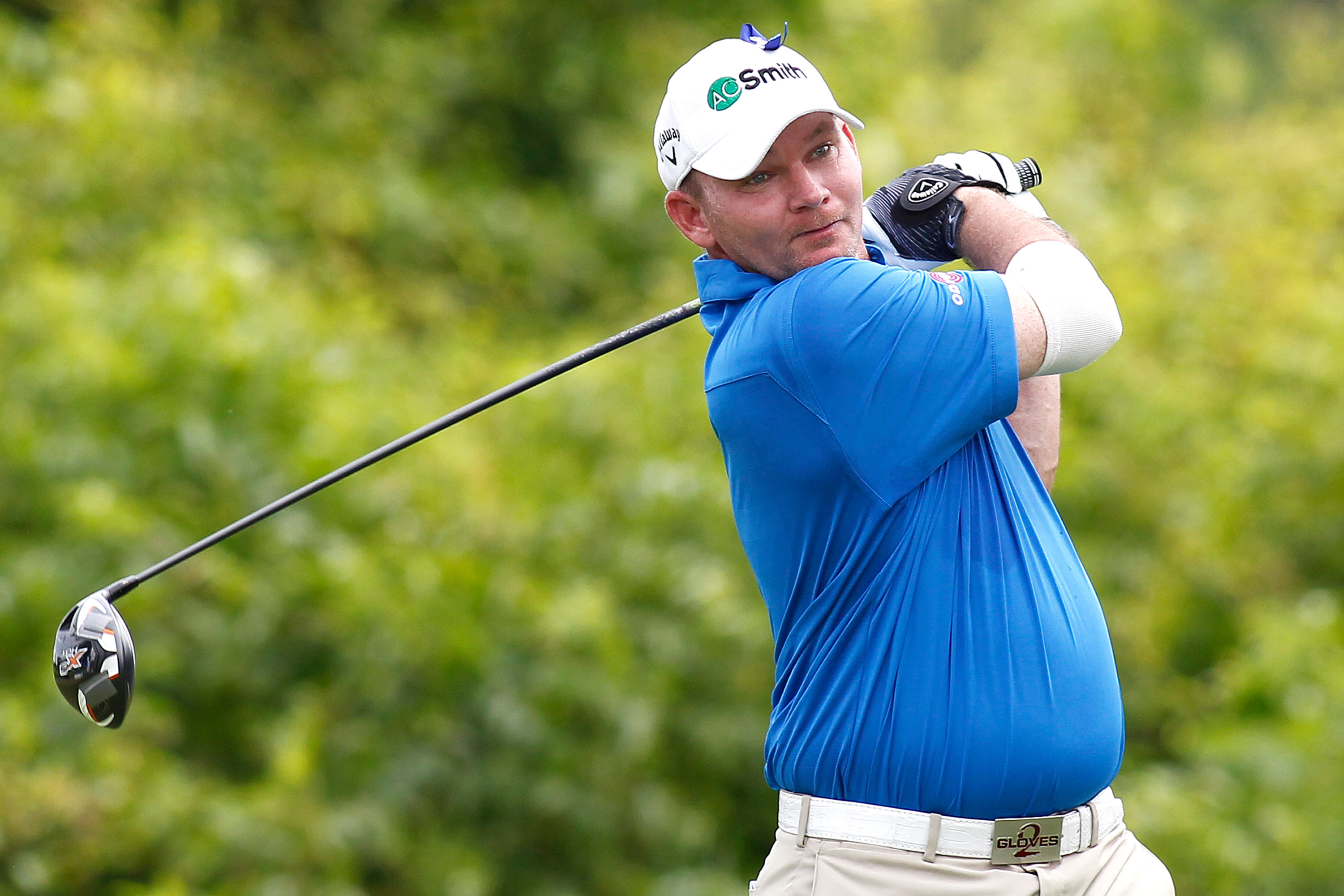 """Pro golfer Tommy """"Two Gloves"""" Gainey faces a first-degree misdemeanor solicitation charge after being arrested for soliciting a prostitute."""