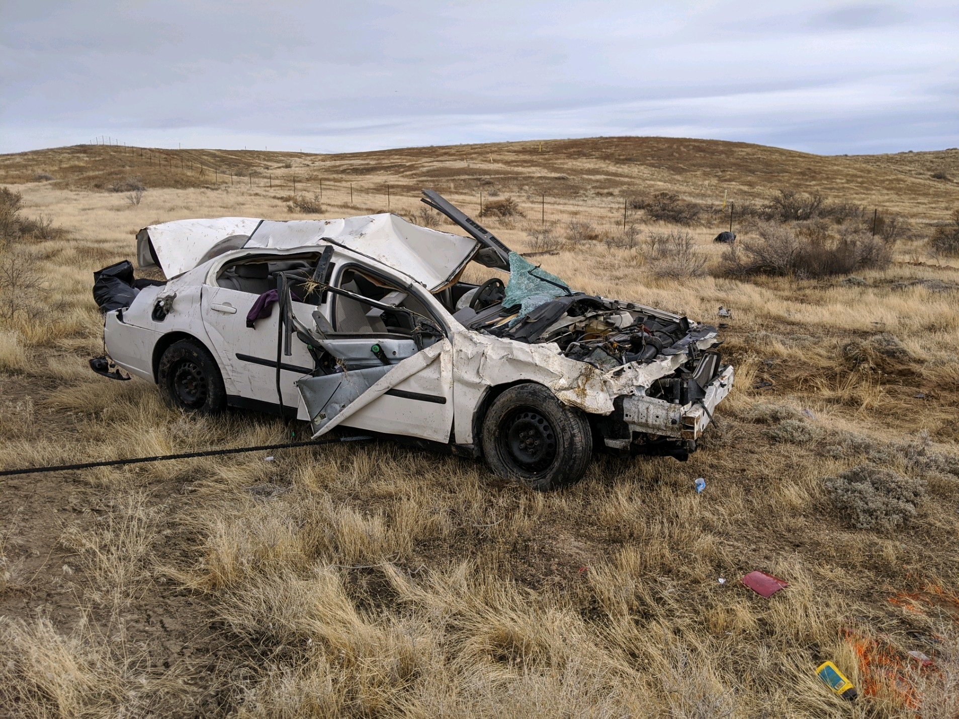 One man was killed and another injured in a crash on I-70 about seven miles from the Utah-Colorado state line on Wedneday, Dec. 11, 2019.