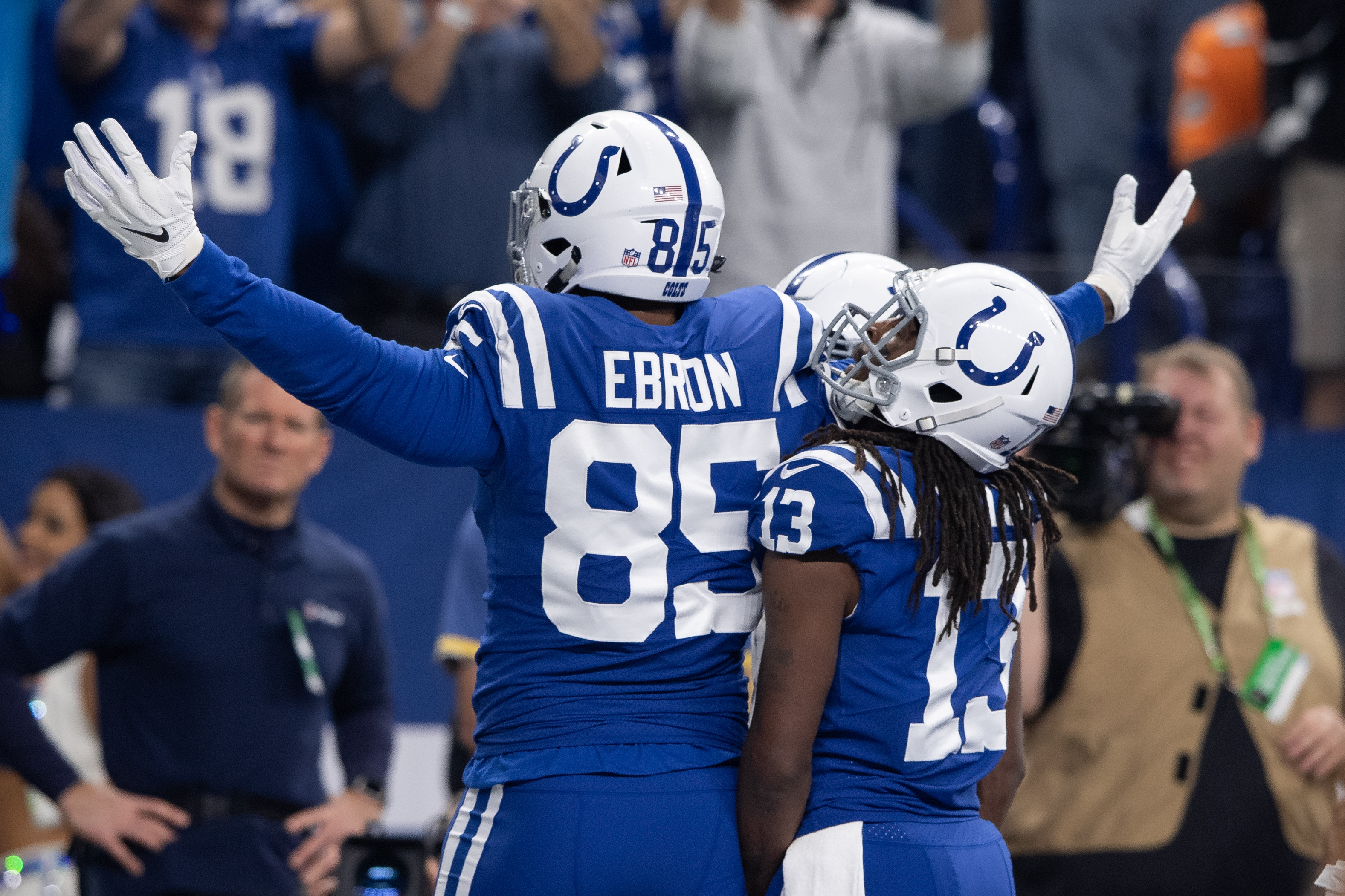 NFL: NOV 25 Dolphins at Colts