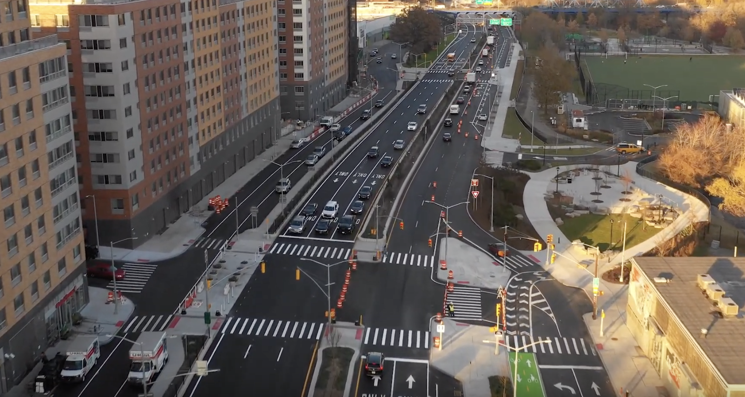 The $75M overhaul of a South Bronx roadway is now complete