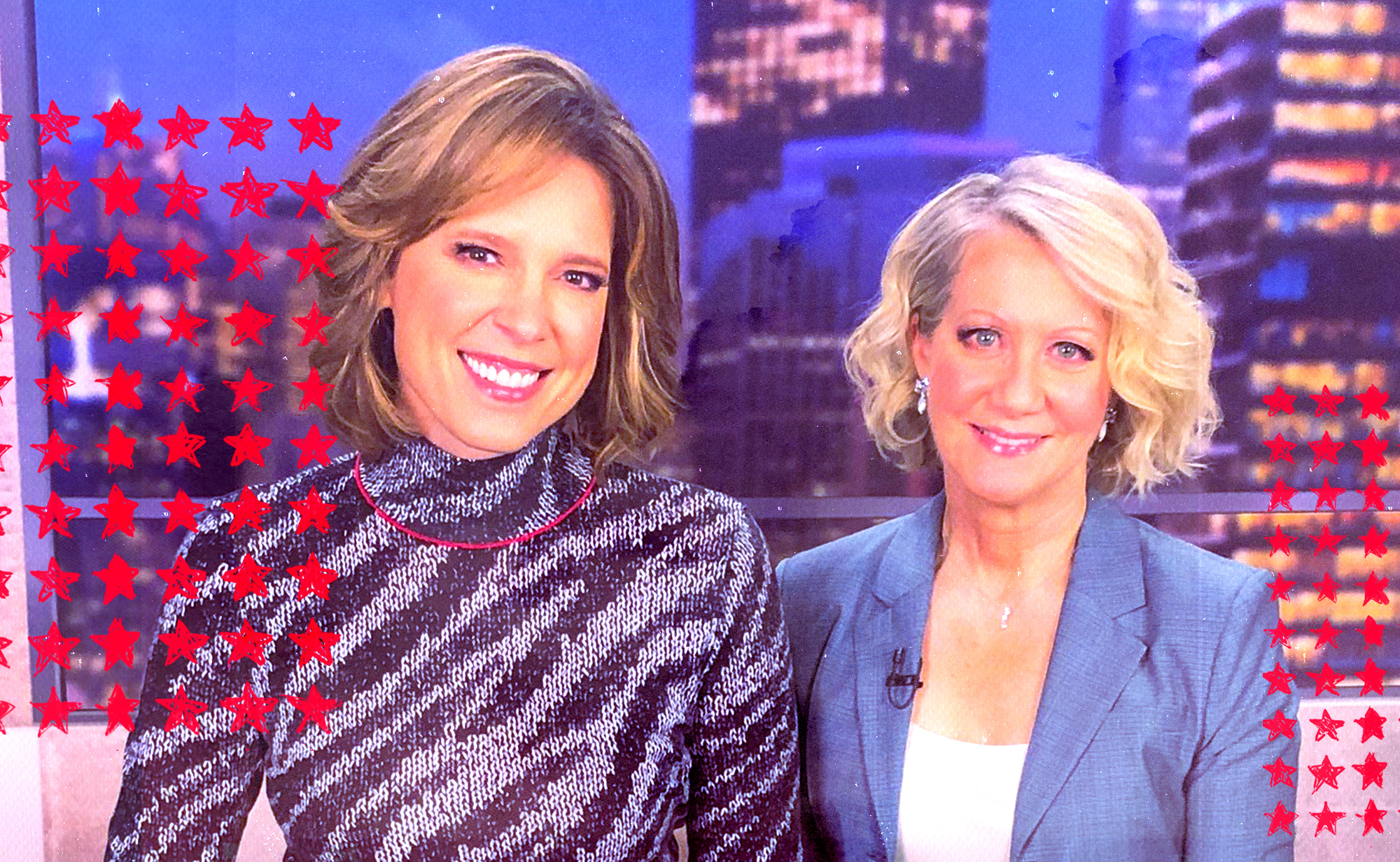 Photo of Hannah Storm and Andrea Kremer smiling side by side.