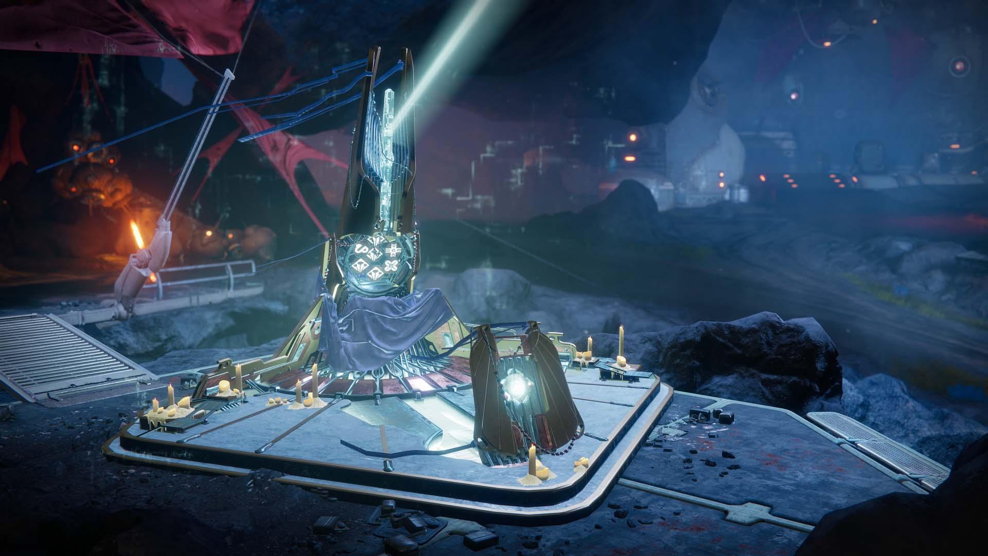 Destiny 2 Tangled Shore Obelisk official image