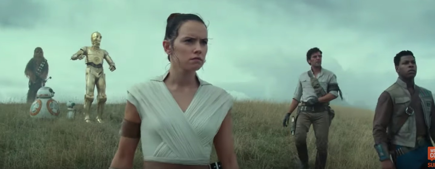 "A still from ""The Rise of Skywalker."""