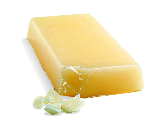 A bar of beeswax.