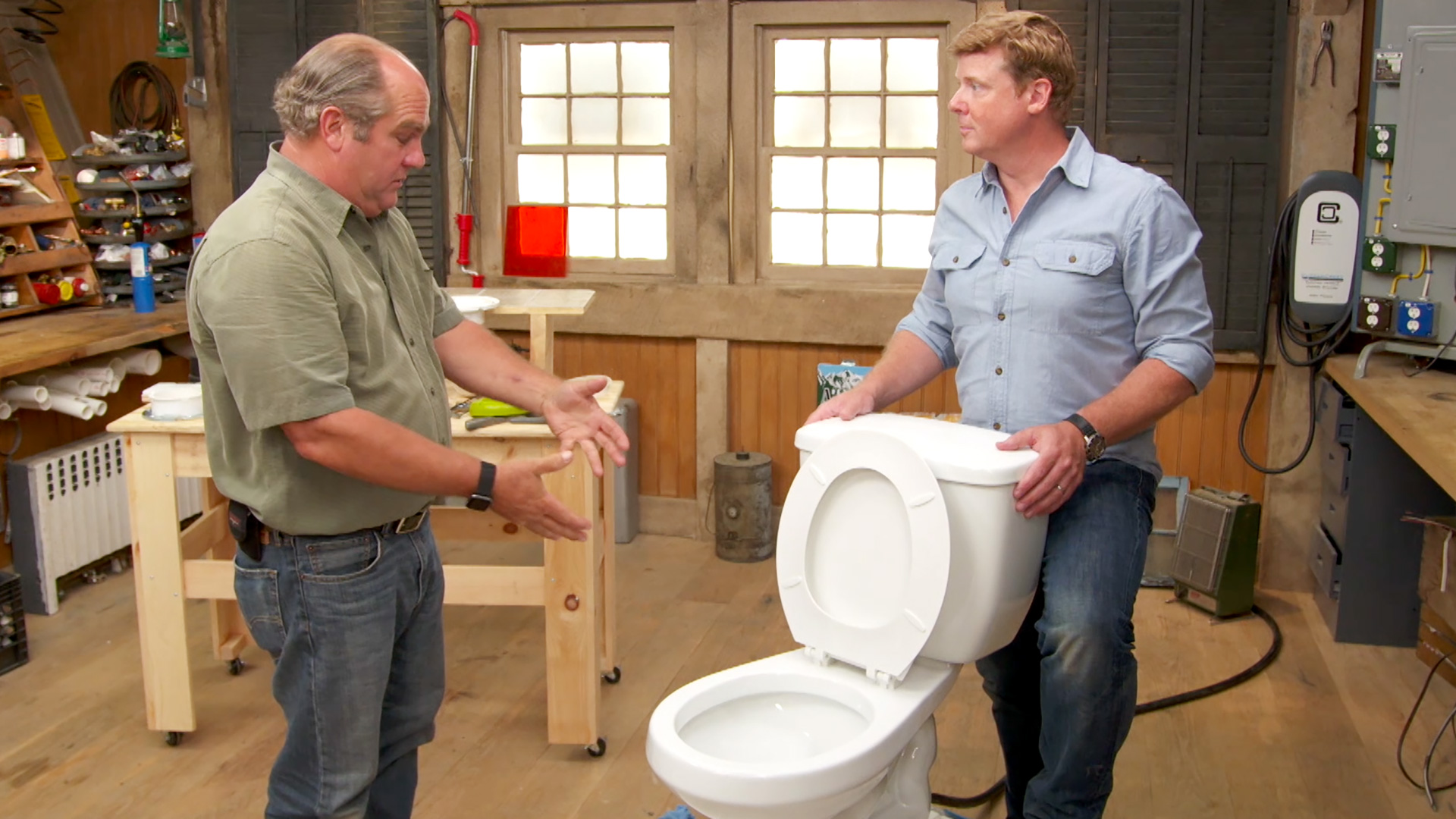 How to fix a gurgling toilet.