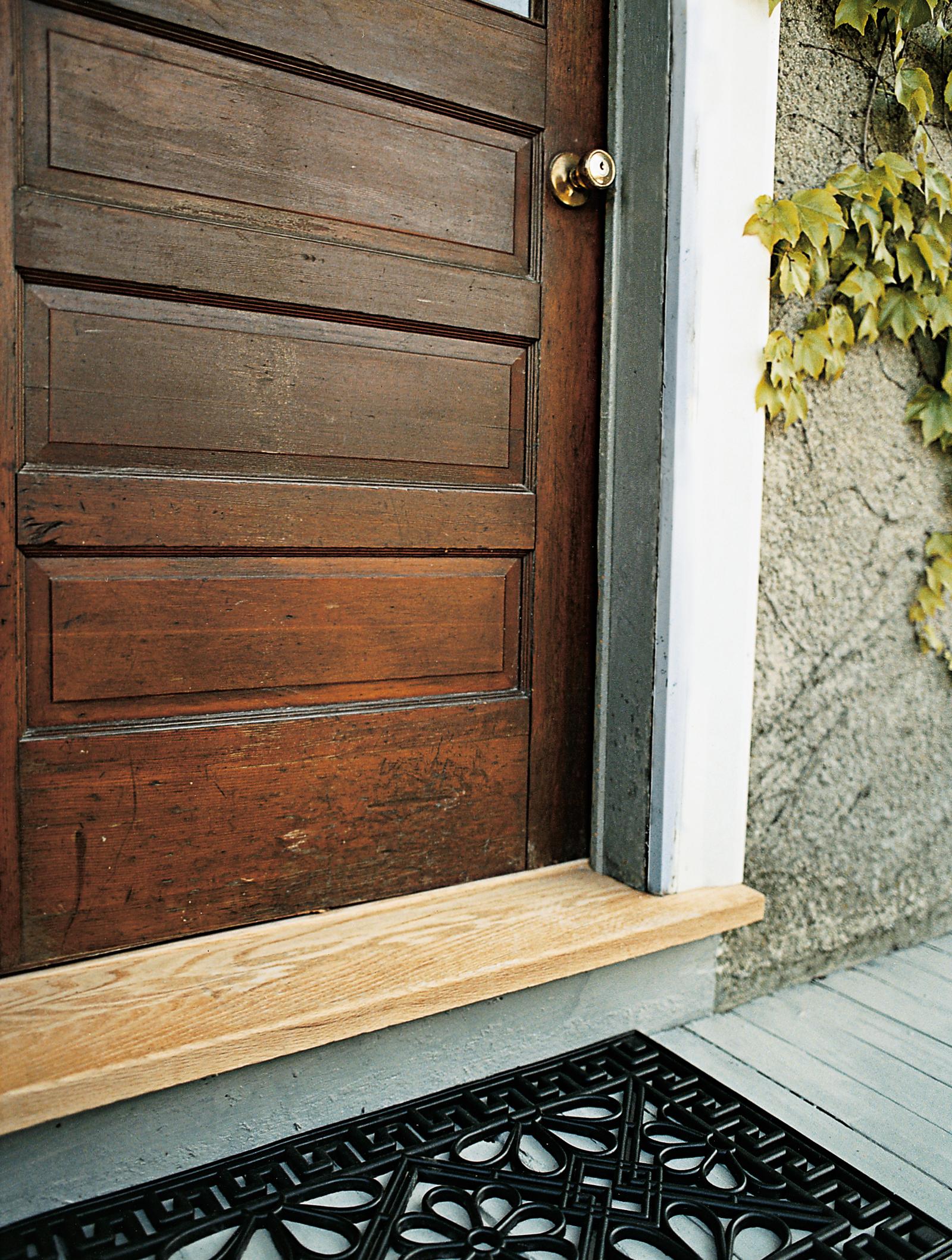 Door With Threshold
