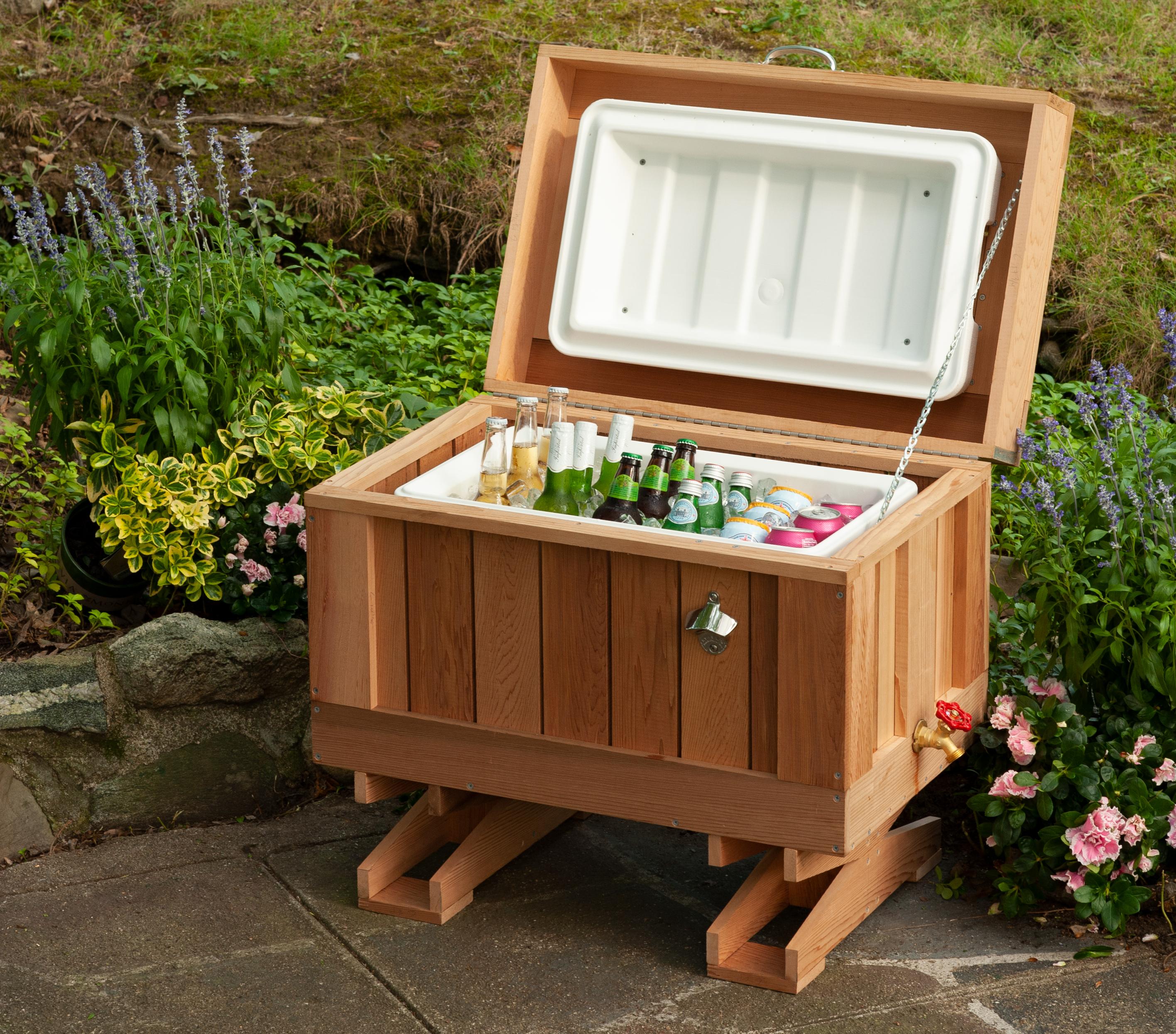 Cedar cooler