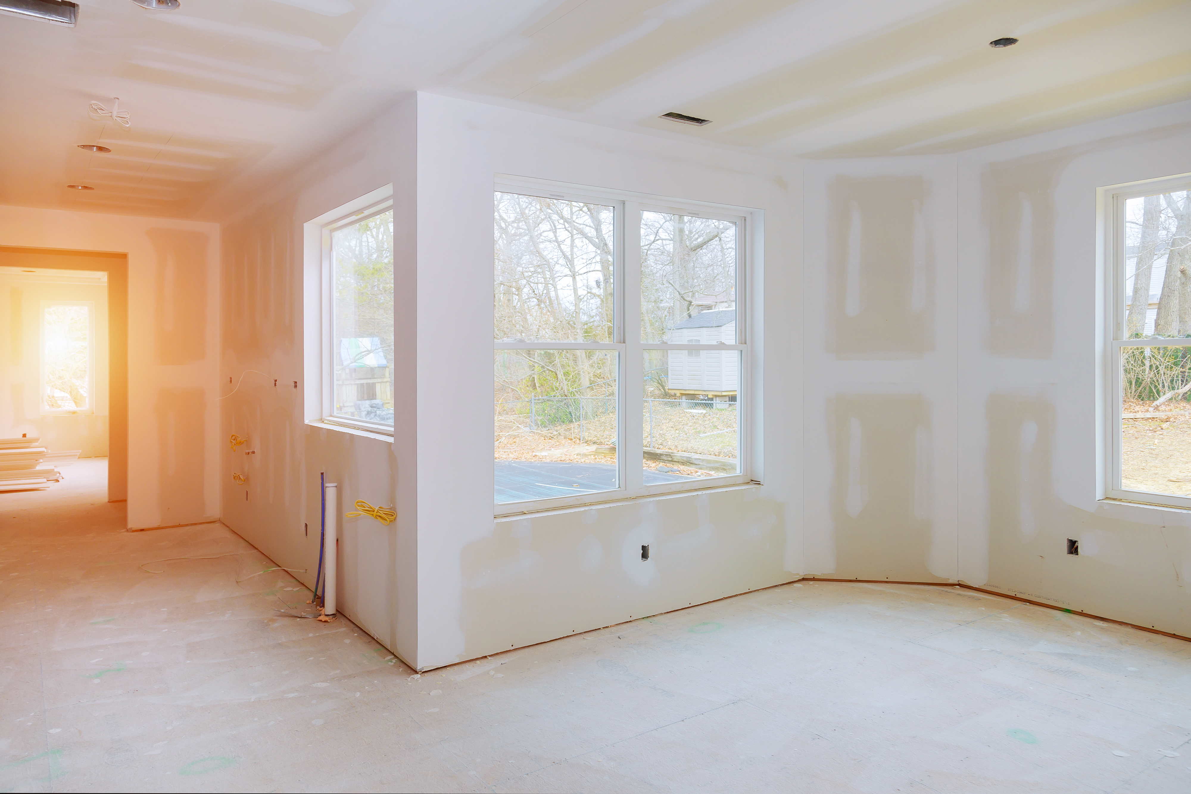 Walls With Drywall