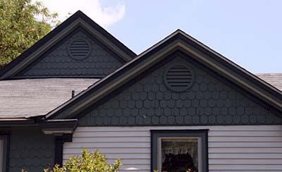 False-front Gable Roof