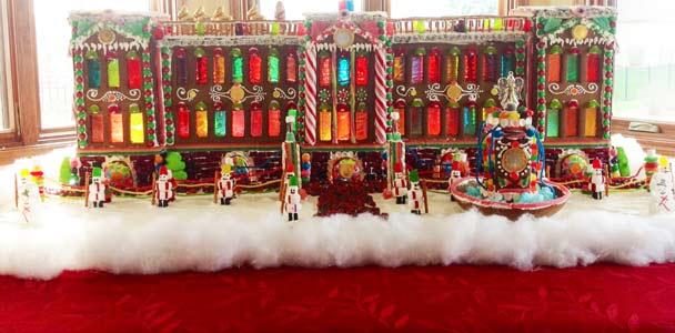 Gingerbread house idea.