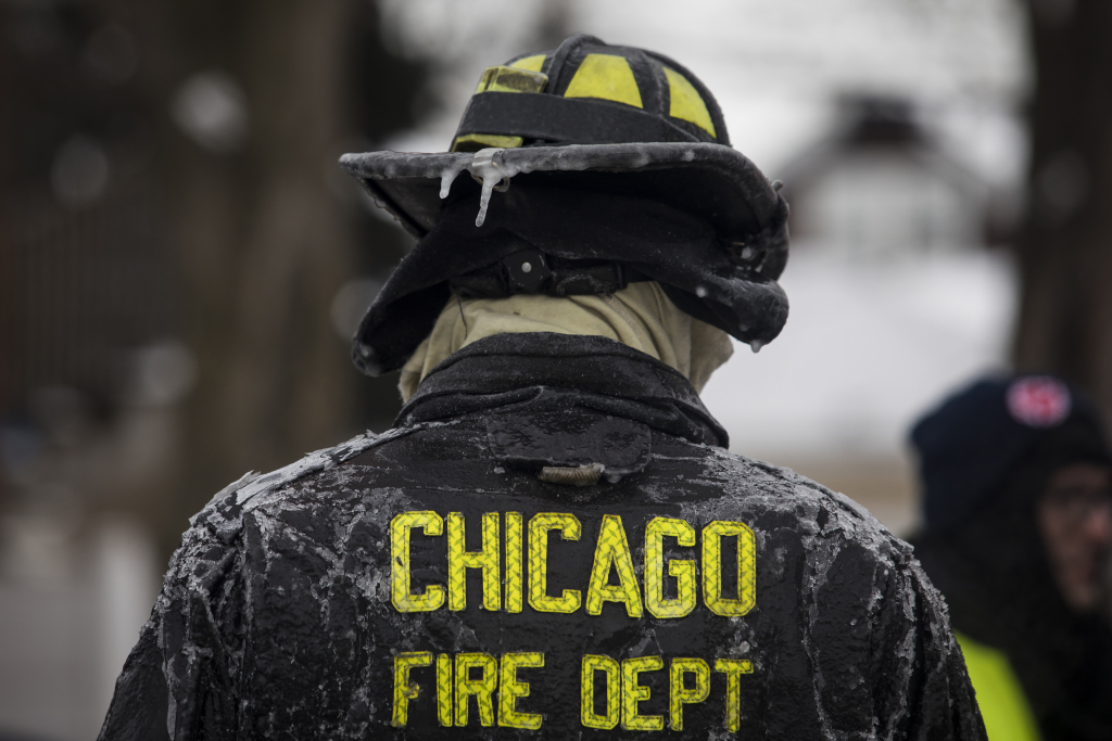 A Chicago firefighter