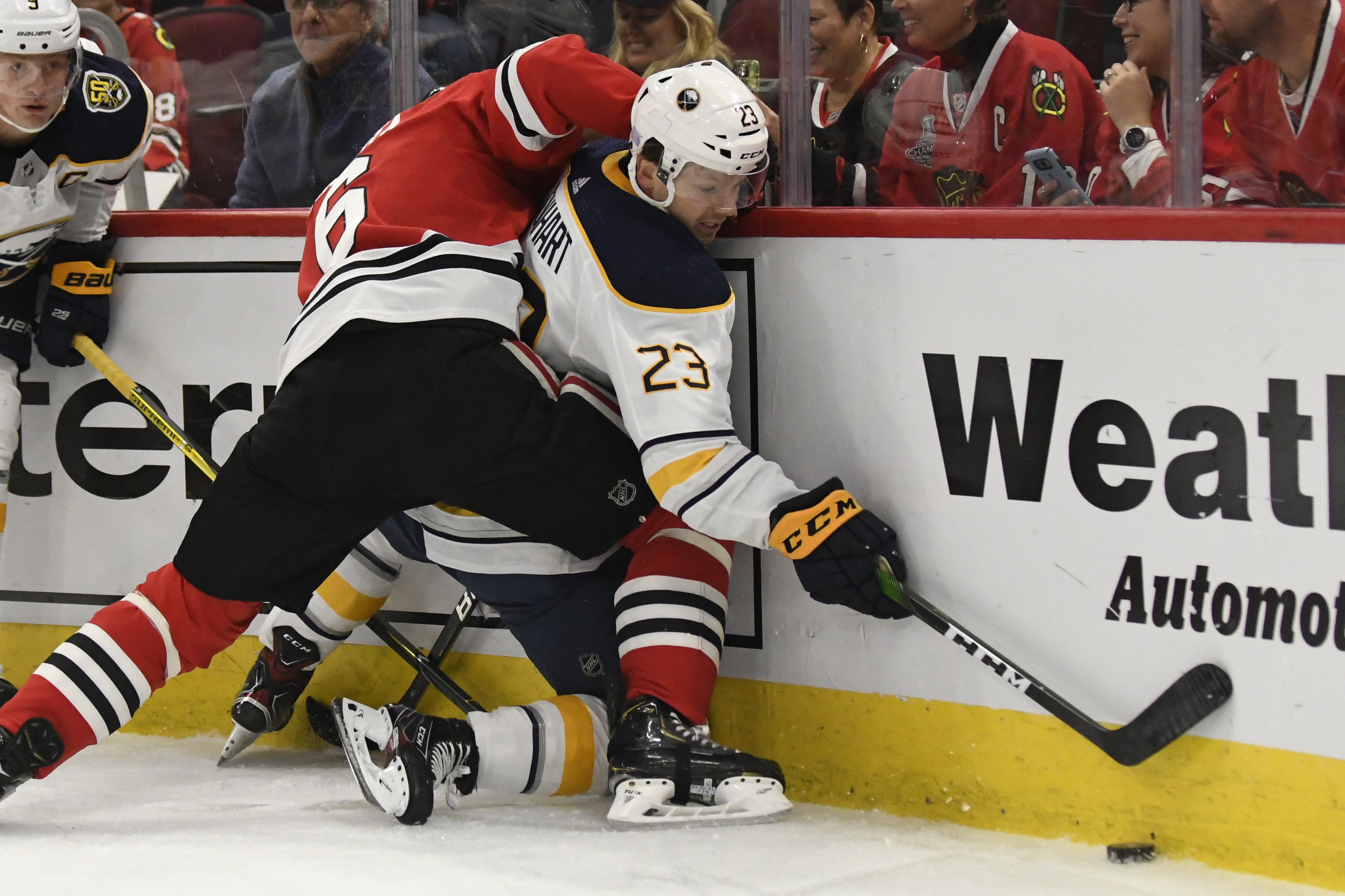 Olli Maatta will be asked to fill a defensive, physical role as he returns to the Blackhawks lineup.
