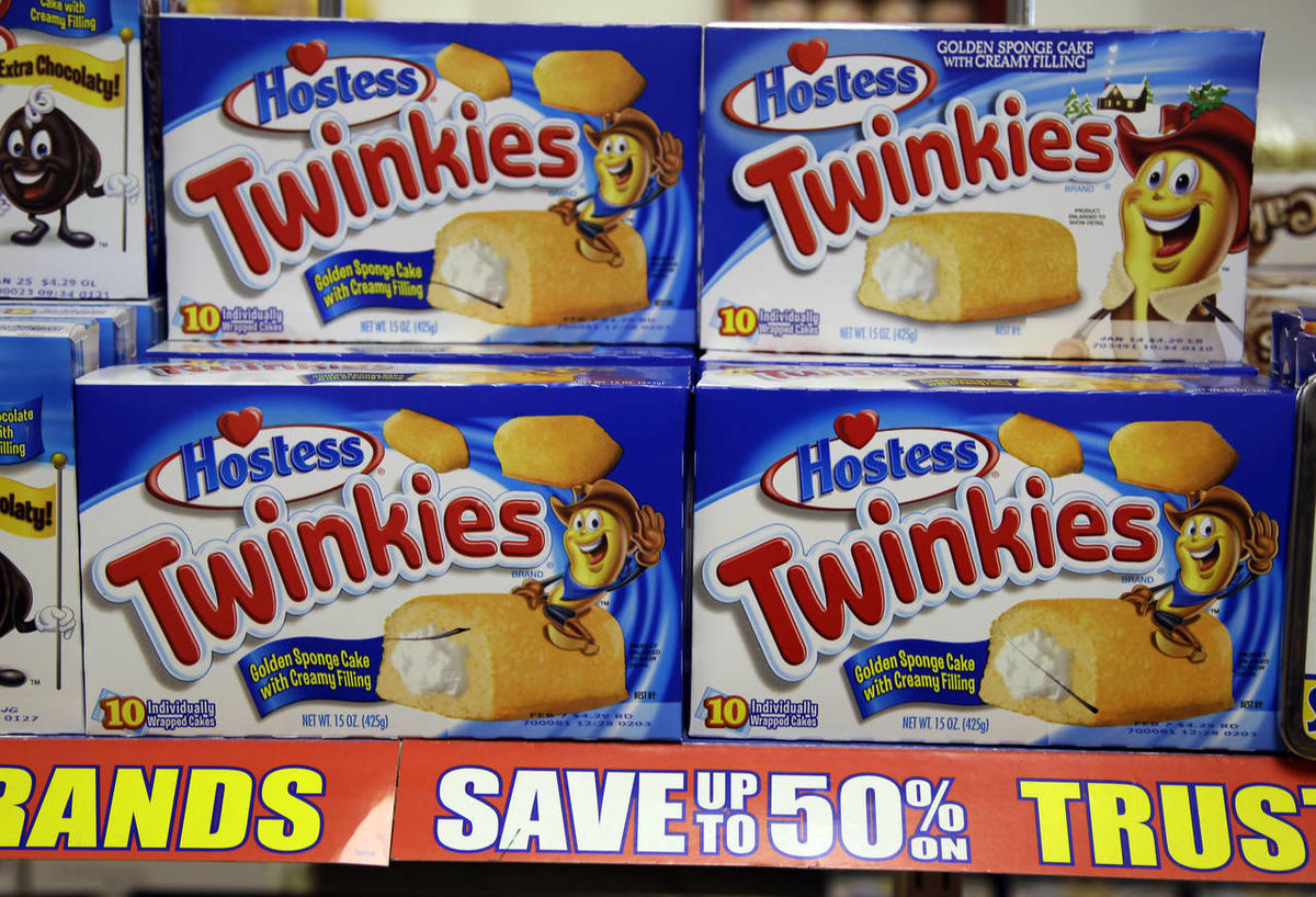 Hostess Twinkies on display at a grocery store in Santa Clara, Calif., Wednesday, Jan. 11, 2012.
