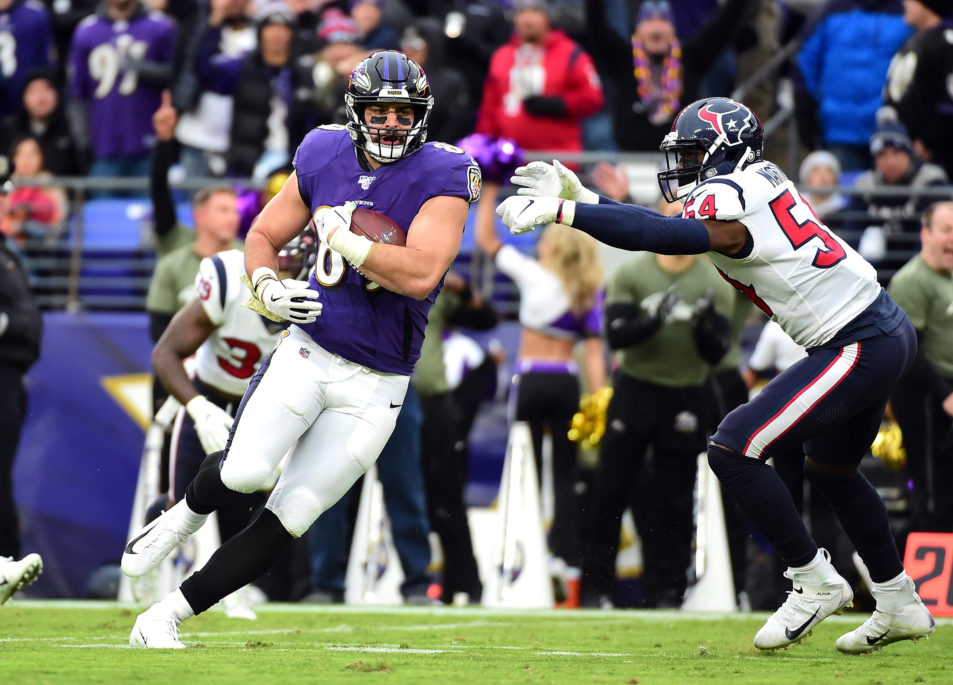 NFL: Houston Texans at Baltimore Ravens