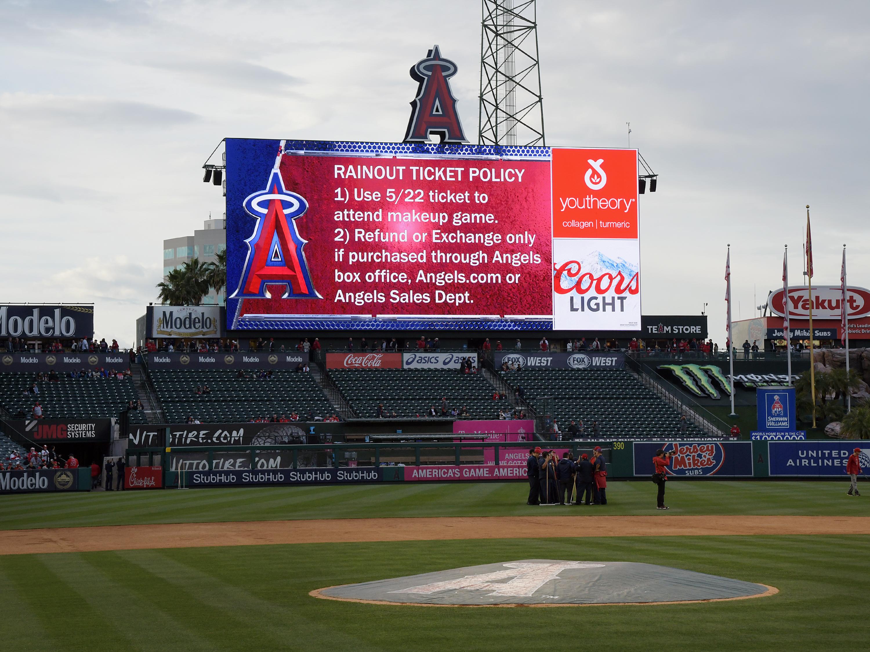 MLB: MAY 22 Twins at Angels