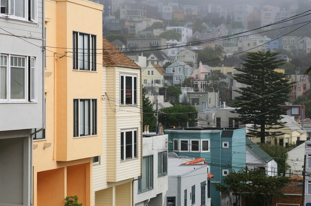 Why do San Francisco homes go vacant?