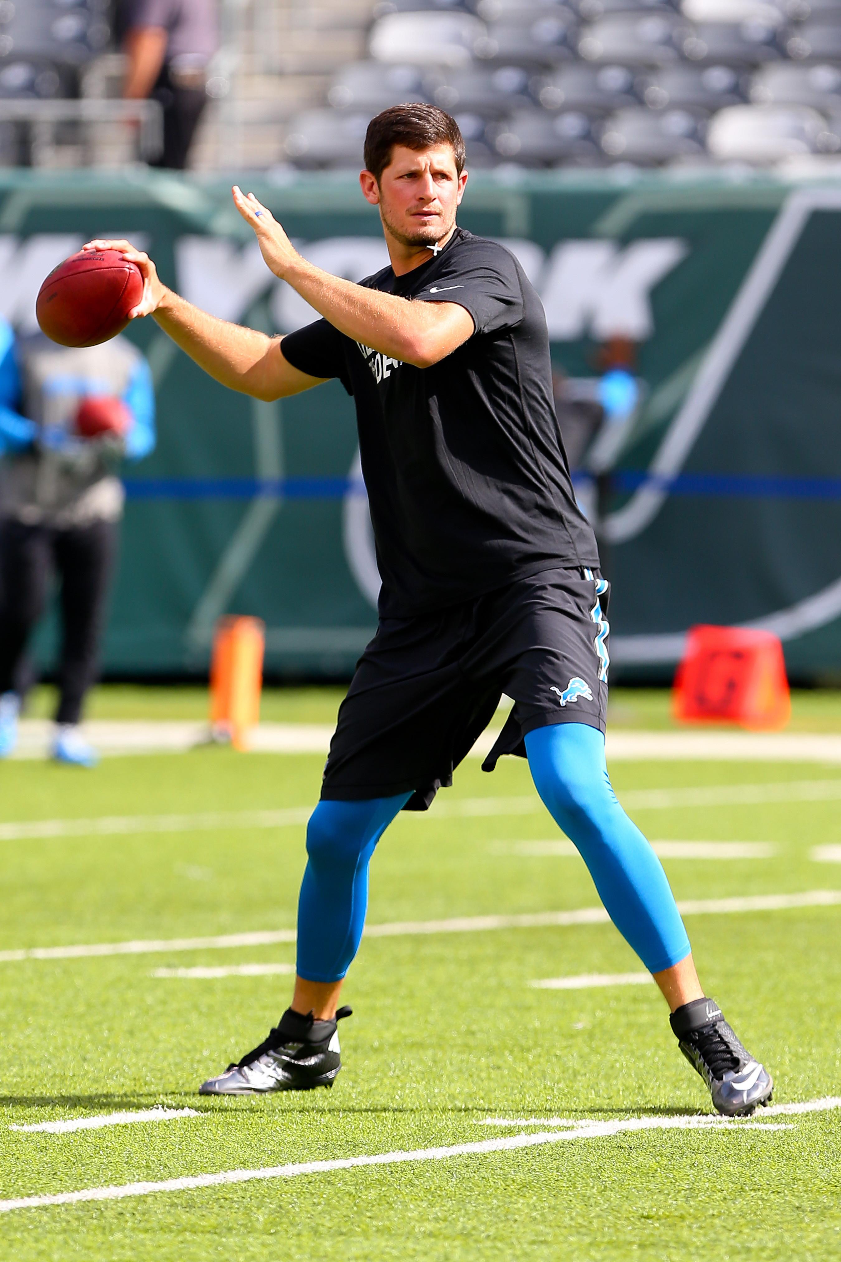 NFL: SEP 28 Lions at Jets