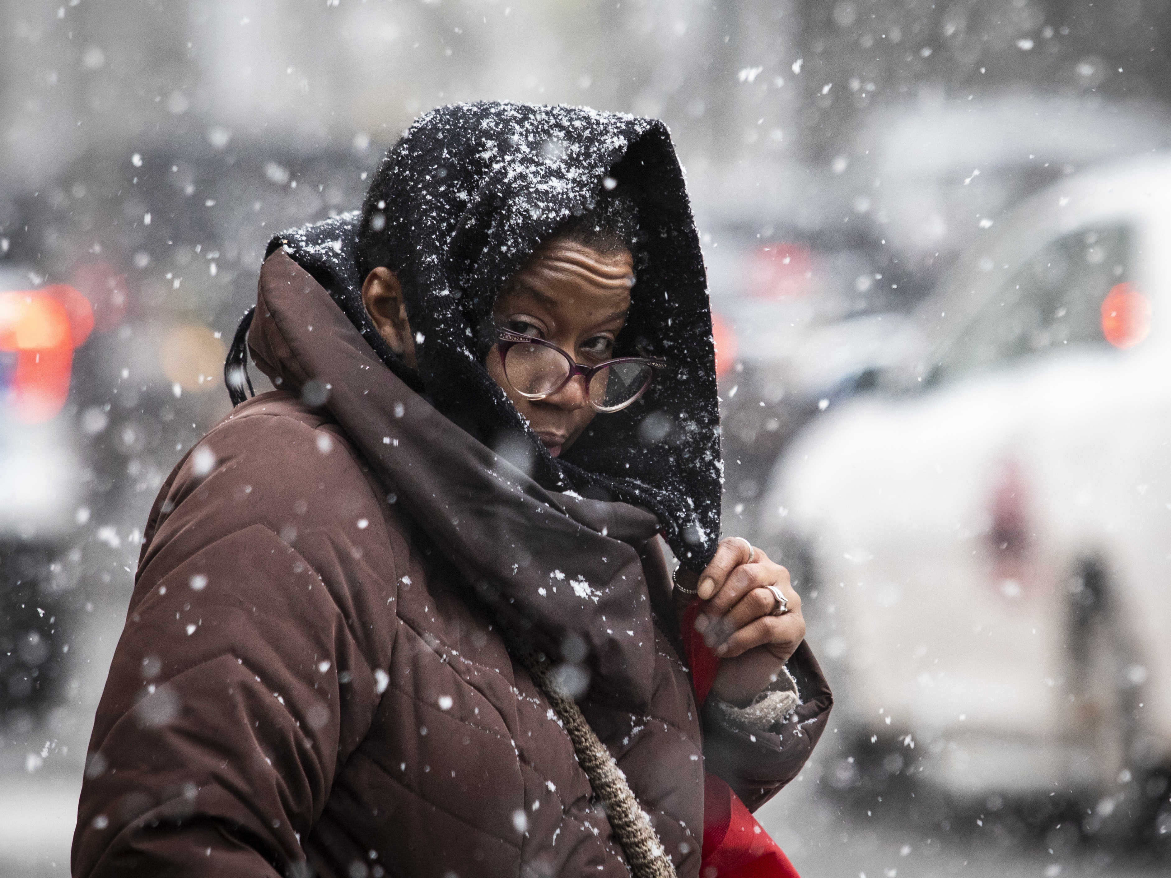 Forecasters say the Chicago area is due for a round of snow the morning of Dec. 16, 2019.