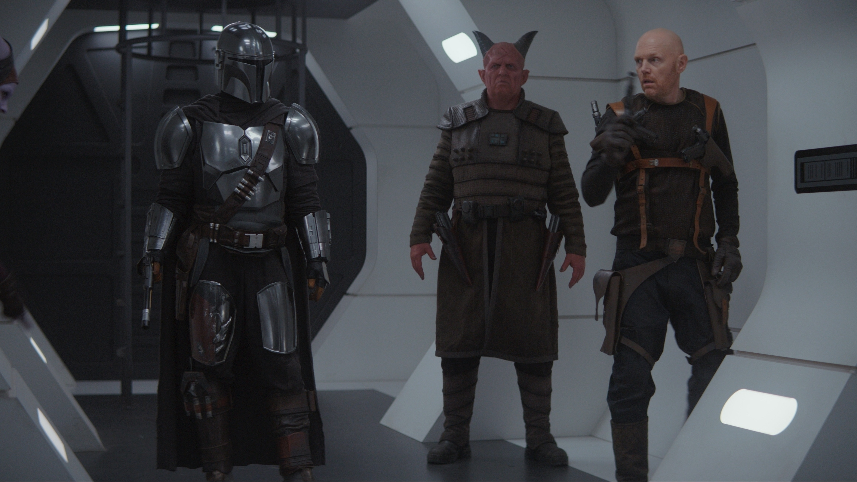 In the episode, Mando arrives on a desolate space station where he meets with some old associates from his past.