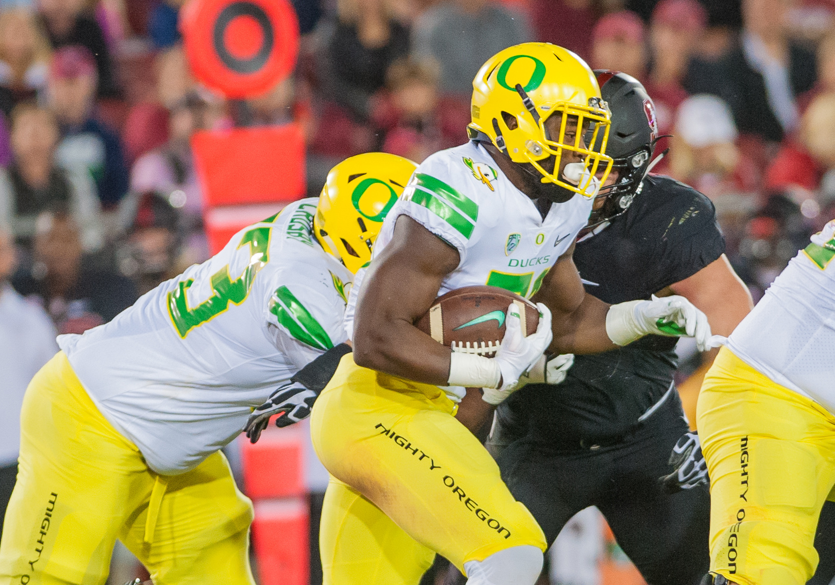 COLLEGE FOOTBALL: OCT 14 Oregon at Stanford