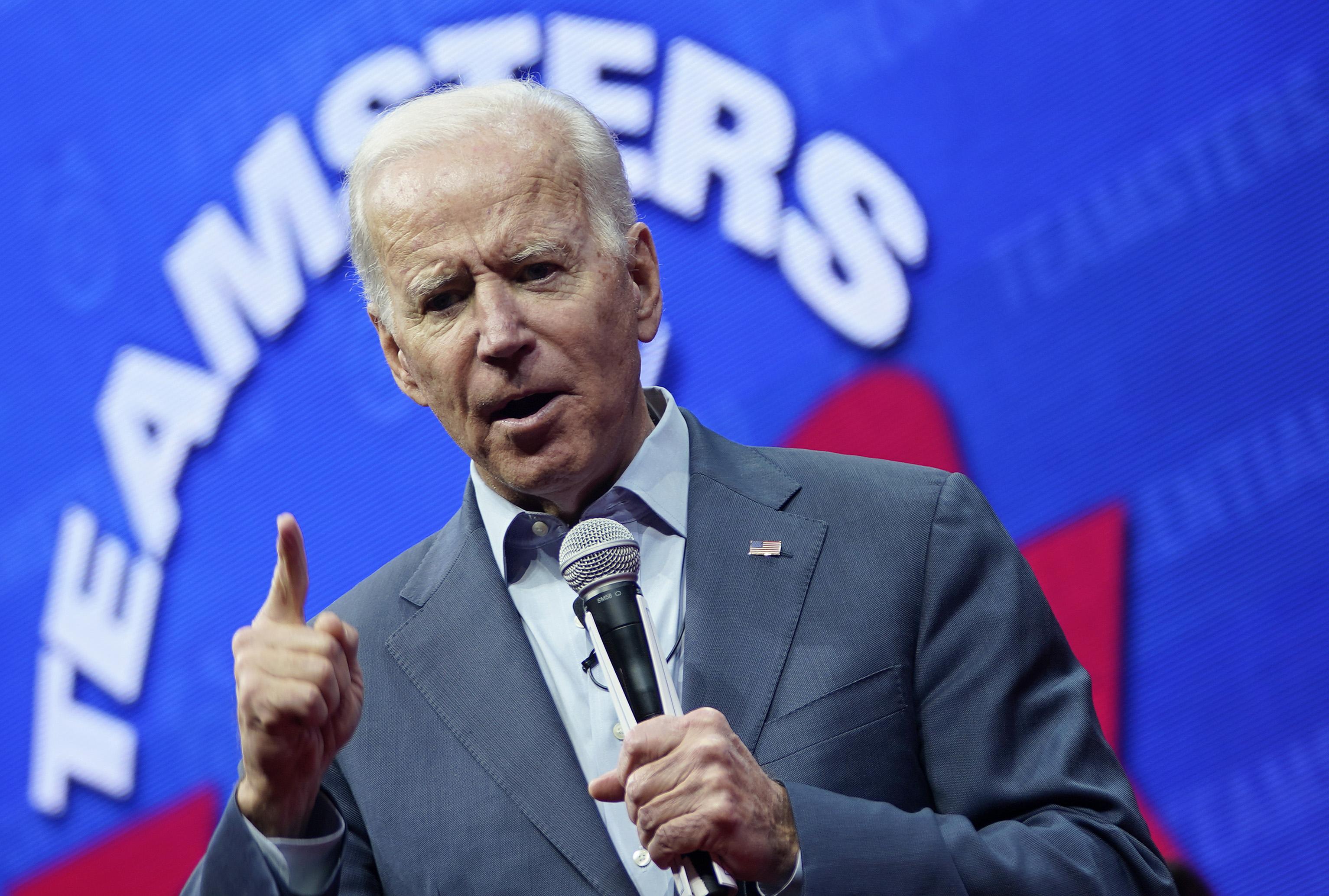 民主党总统在爱荷华州的联盟大会上举行的两届总统大会