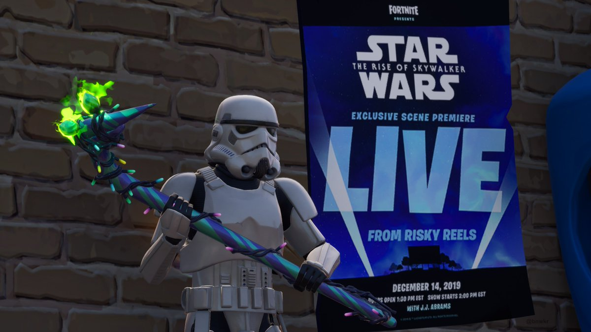 Fortnite goes down an hour before its Star Wars: The Rise of Skywalker event
