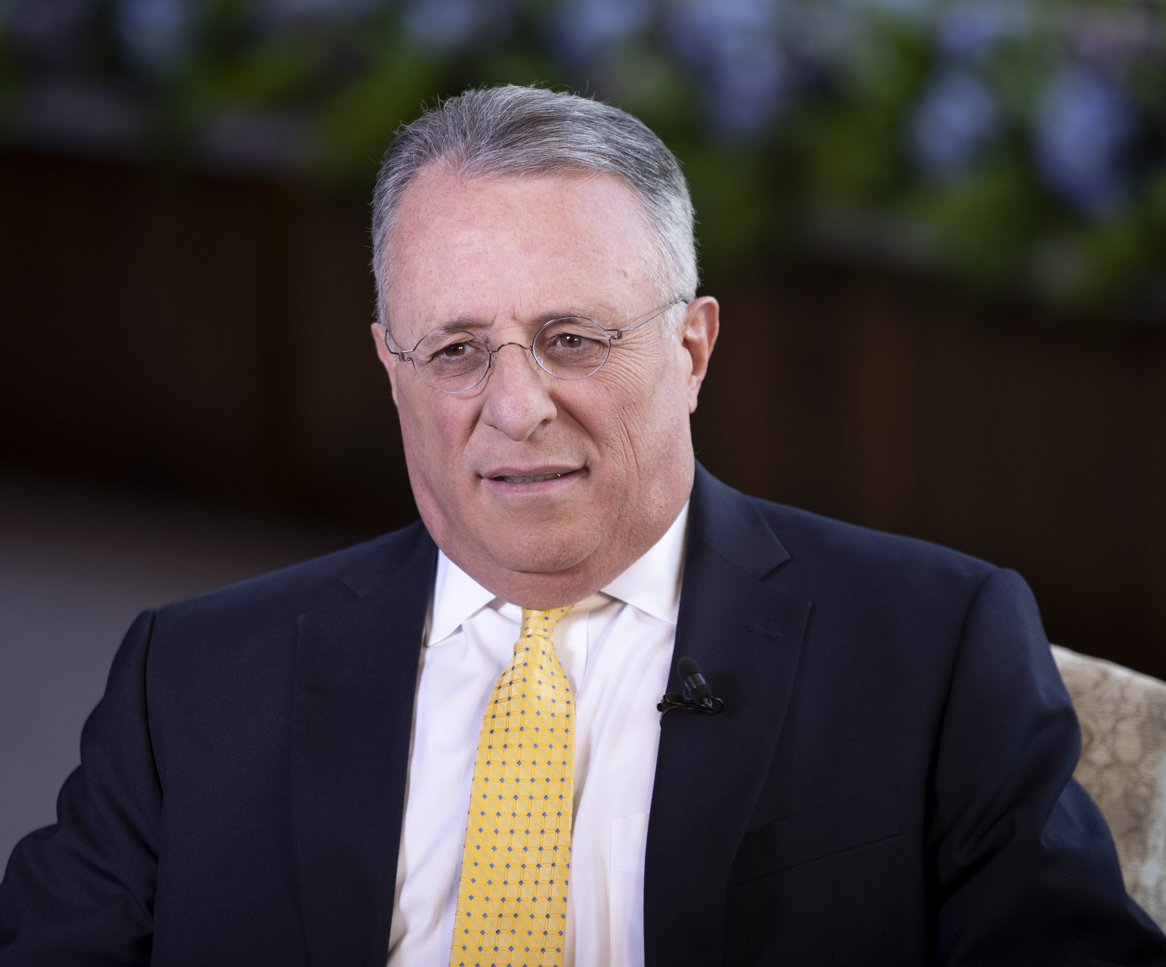Elder Ulisses Soares answers questions during an interview in the North Visitors Center on Temple Square in Salt Lake City on Thursday, June 28, 2018.