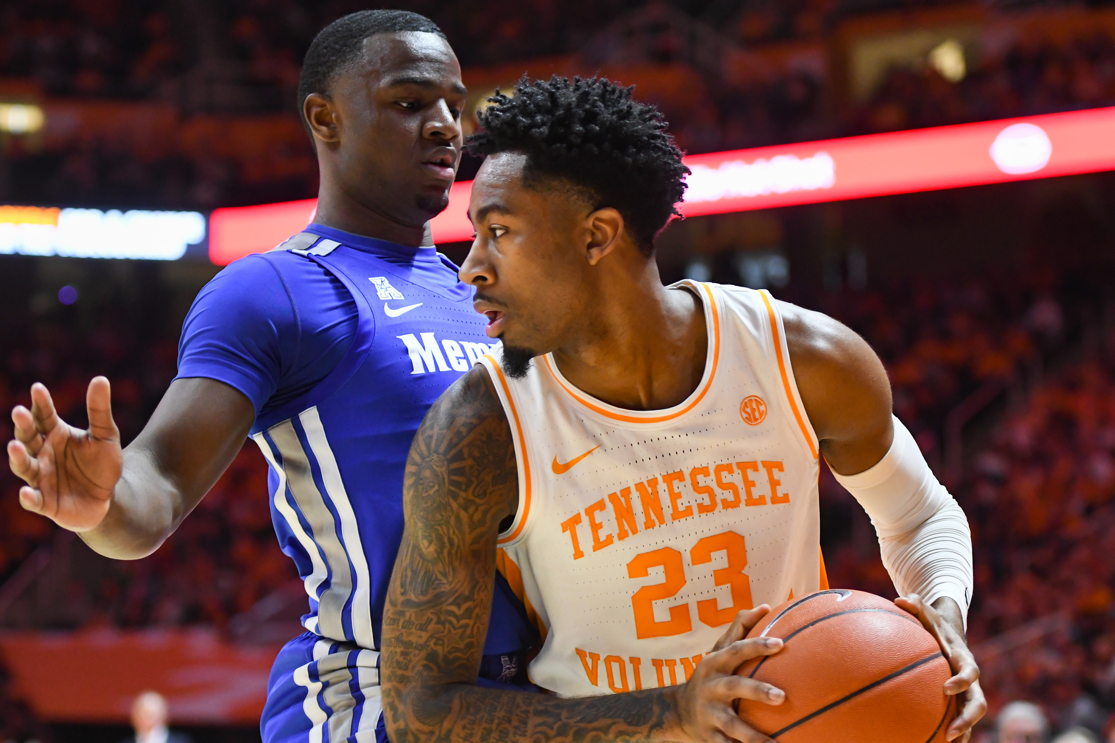 NCAA Basketball: Memphis at Tennessee