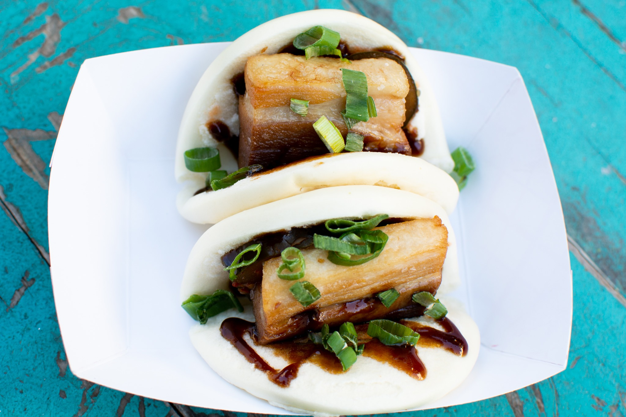Steamed buns from East Side King