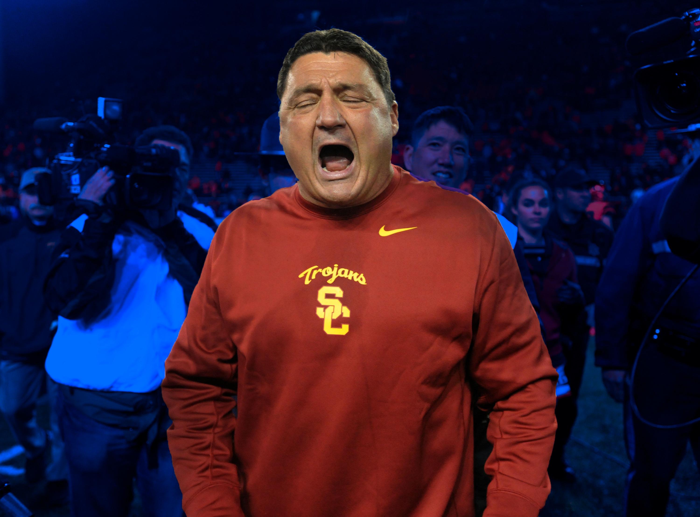 Ed Orgeron at USC