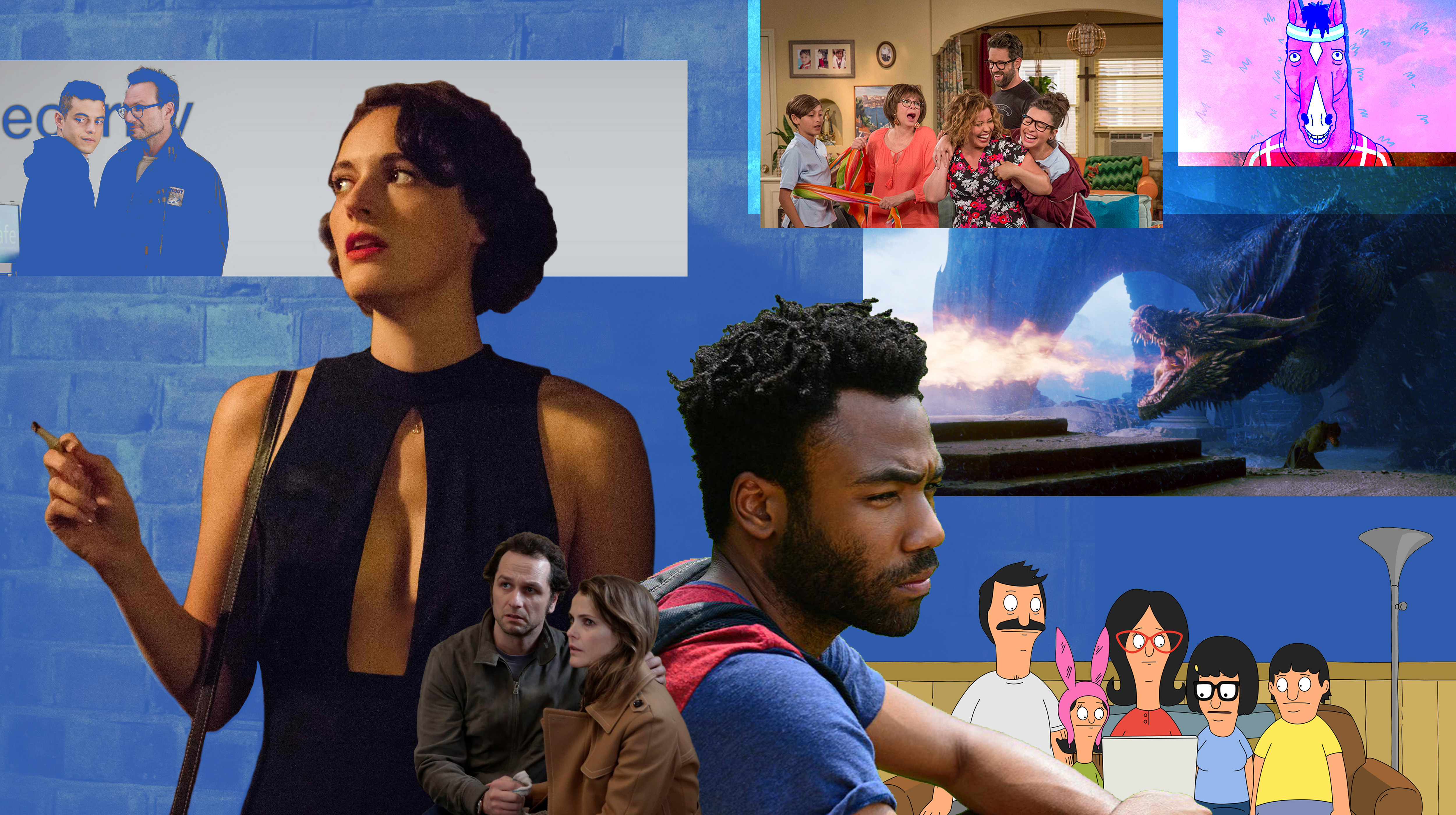 The best TV shows of the 2010s included Fleabag and Atlanta.