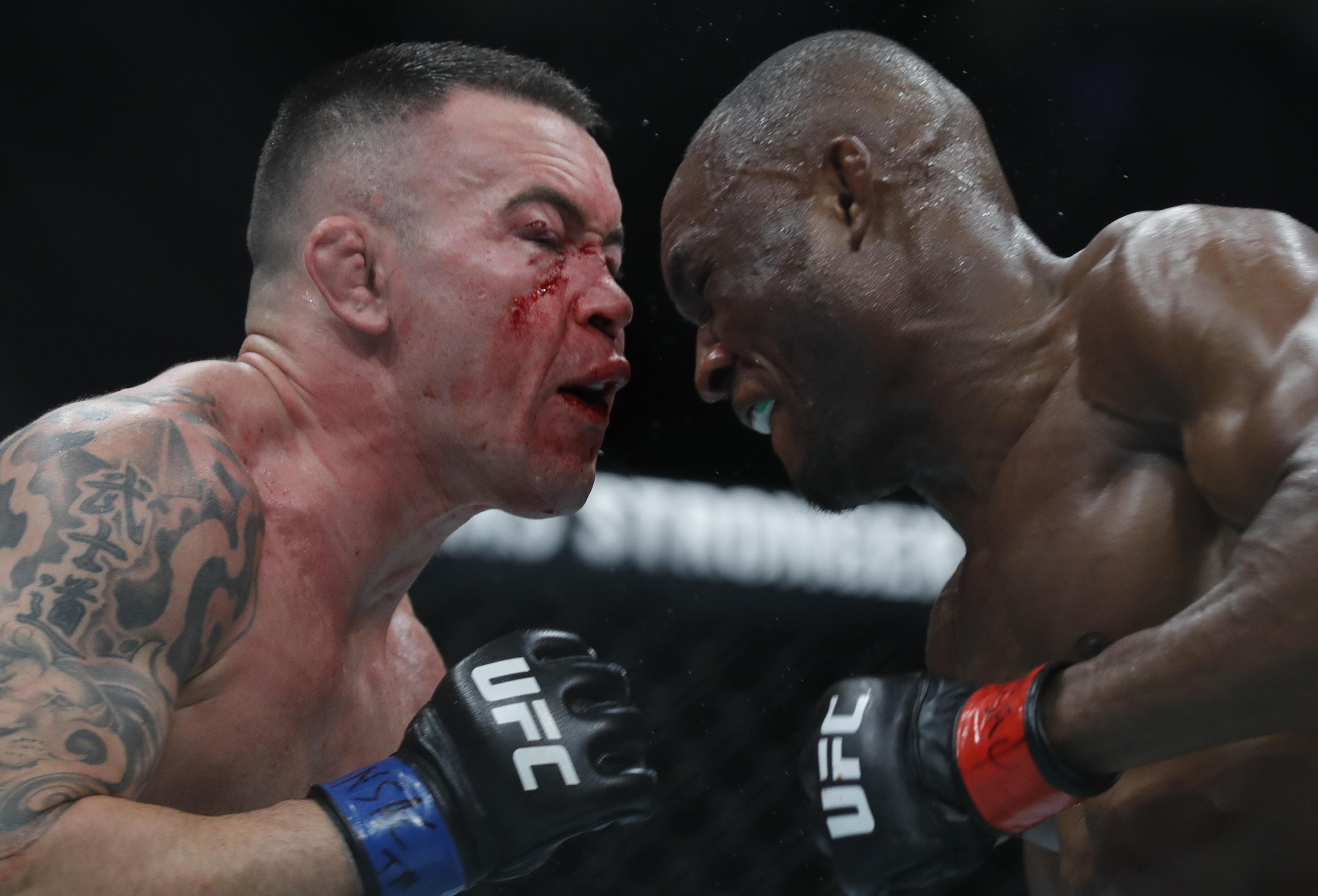 Kamaru Usman vs Colby Covington at UFC 245 268