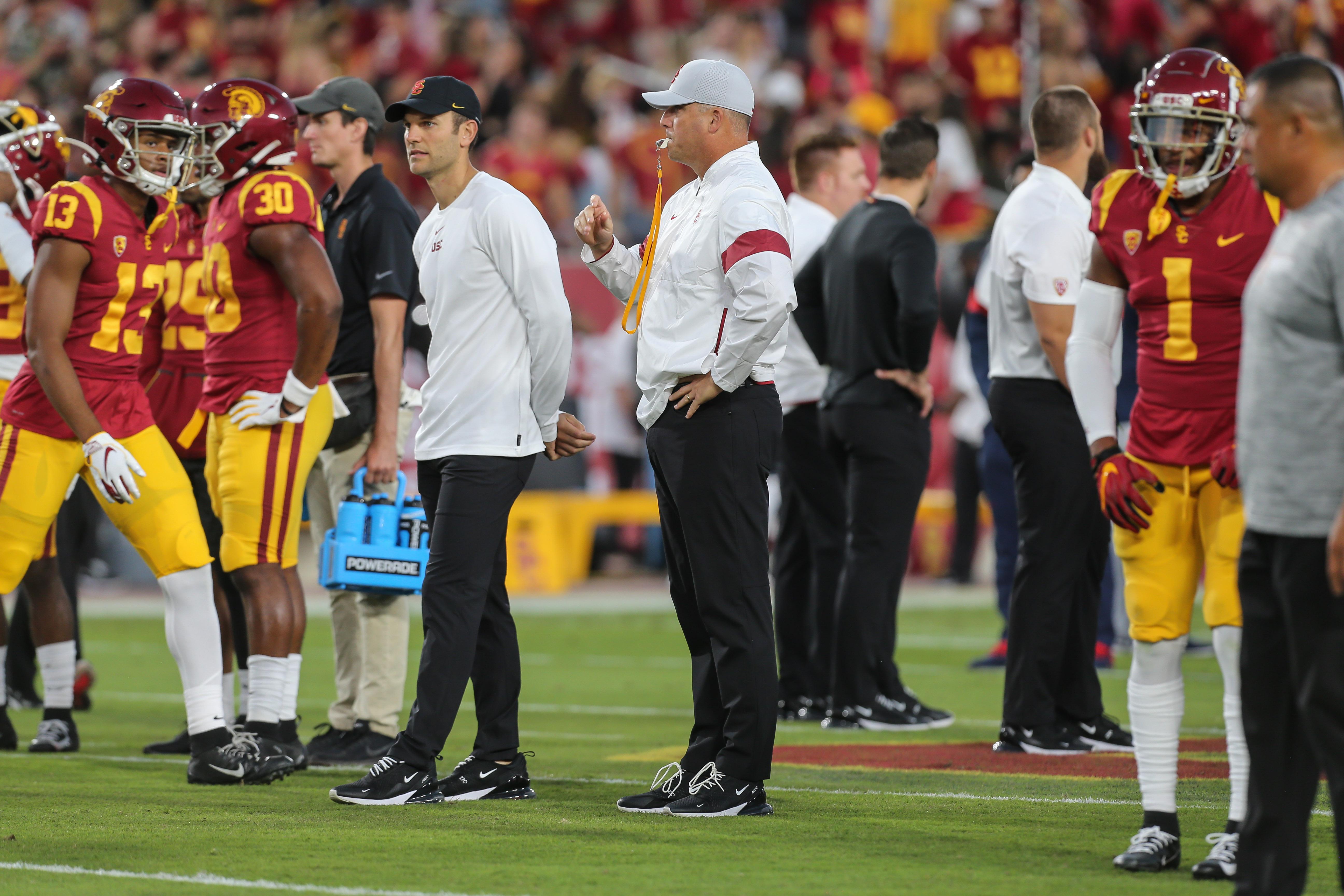 COLLEGE FOOTBALL: OCT 19 Arizona at USC