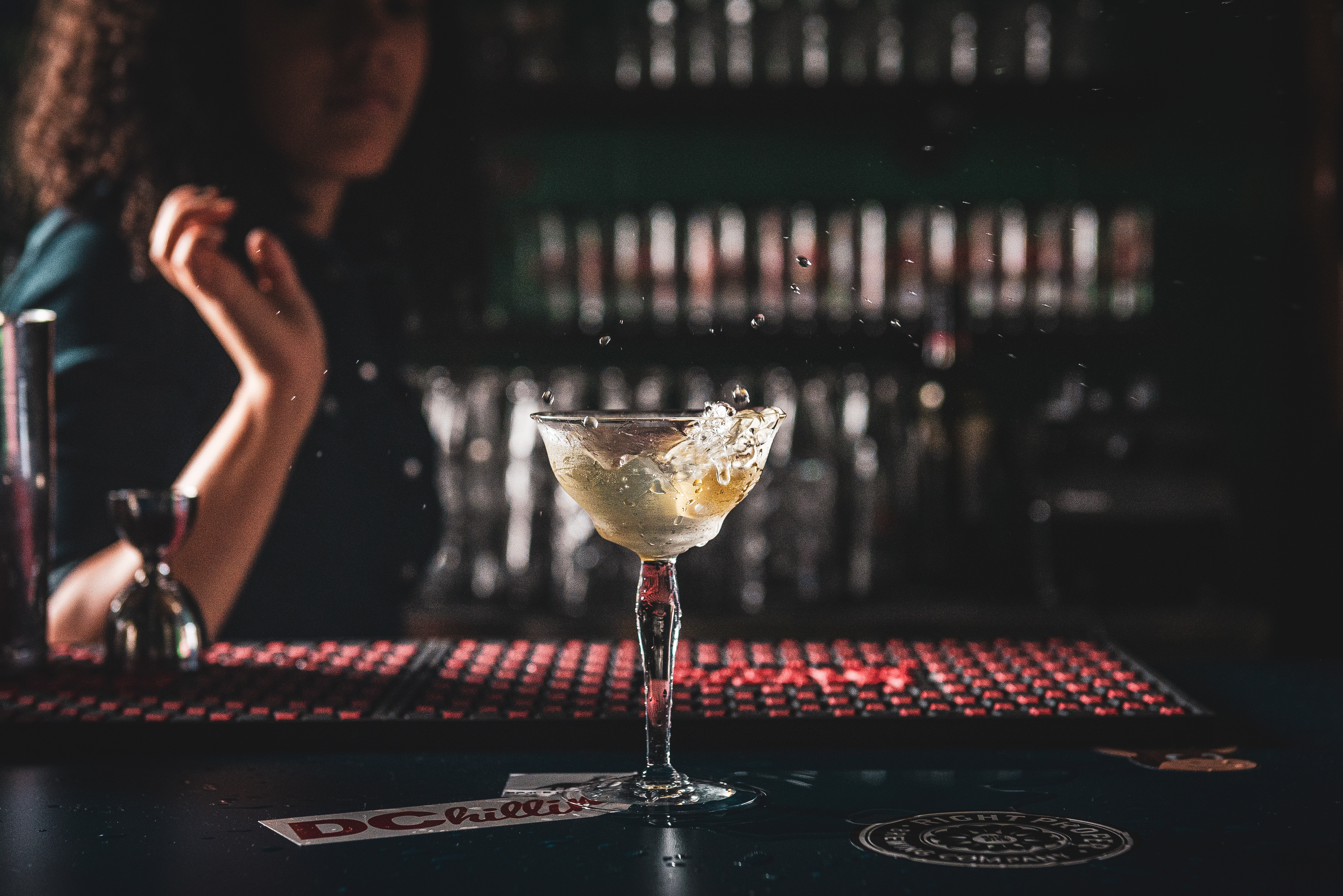 A cocktail at Last Call