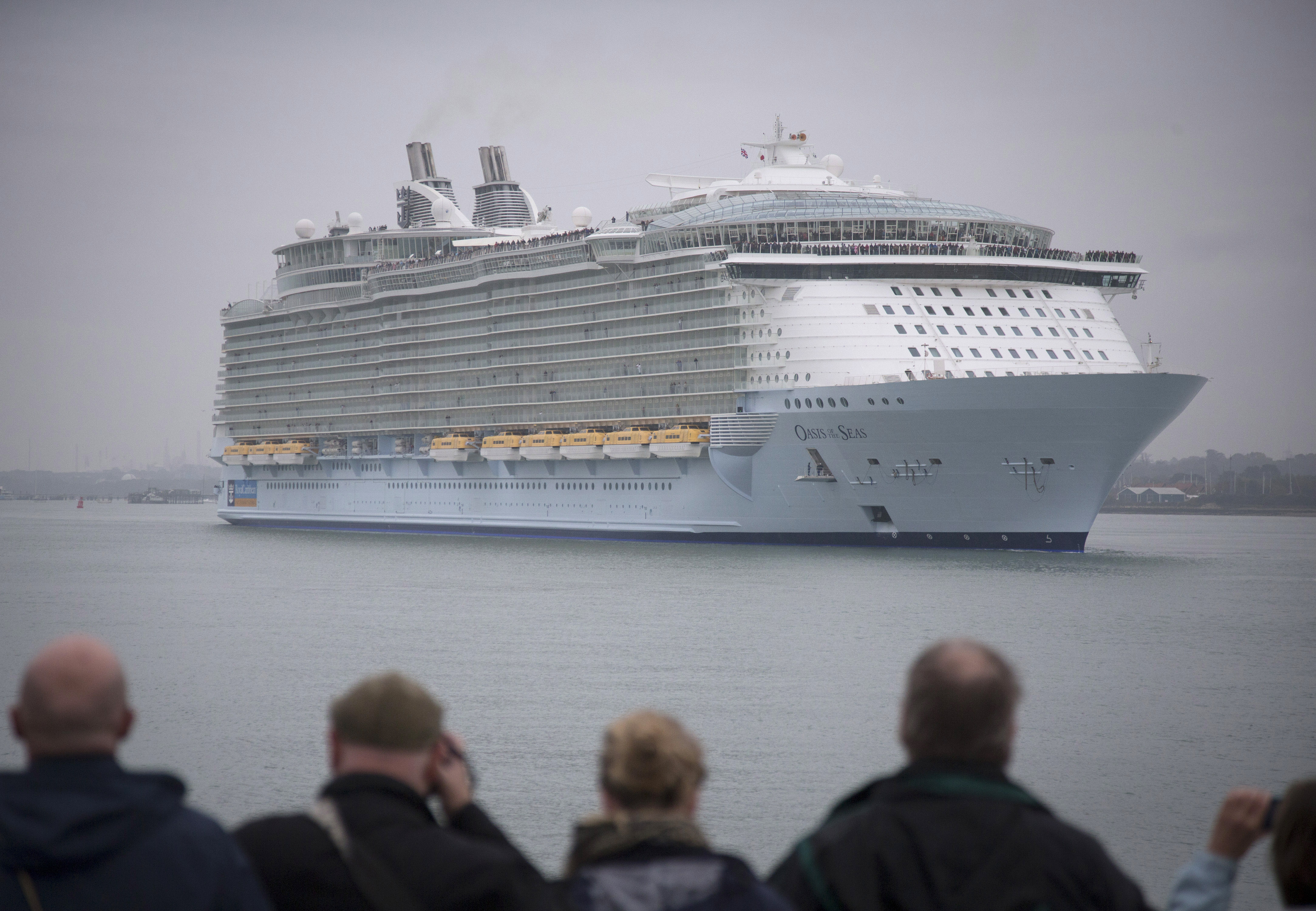 Royal Caribbean's Oasis of the Seas arrives in Southampton, England in 2014. With a record 30 million people taking cruises this year, it is vital to understand the care available should you encounter a health issue while on board.