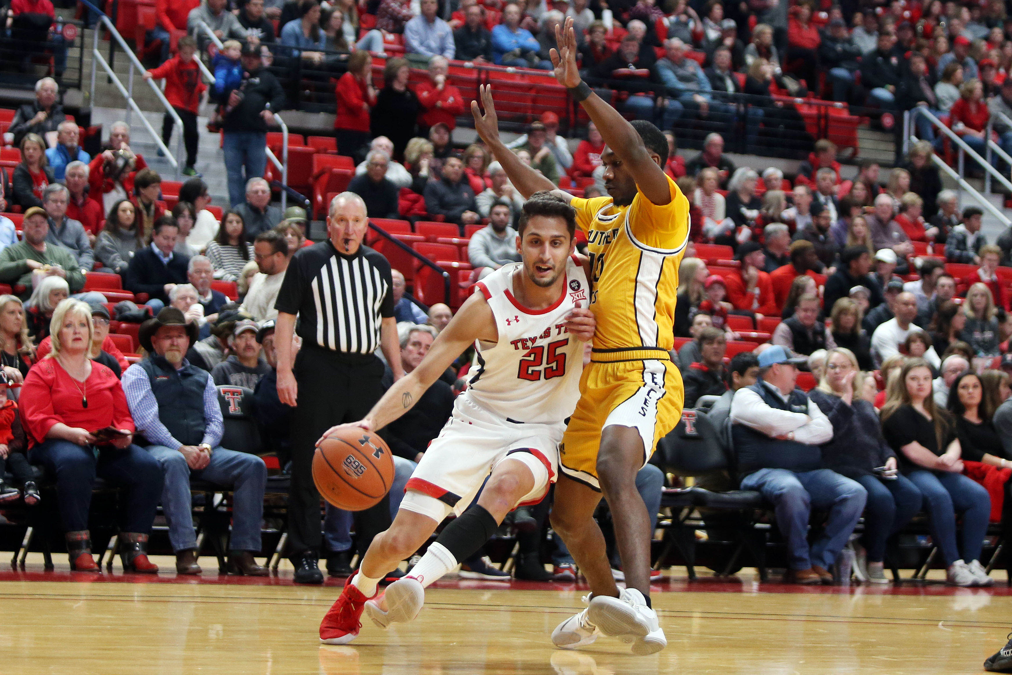 NCAA Basketball: Southern Mississippi at Texas Tech