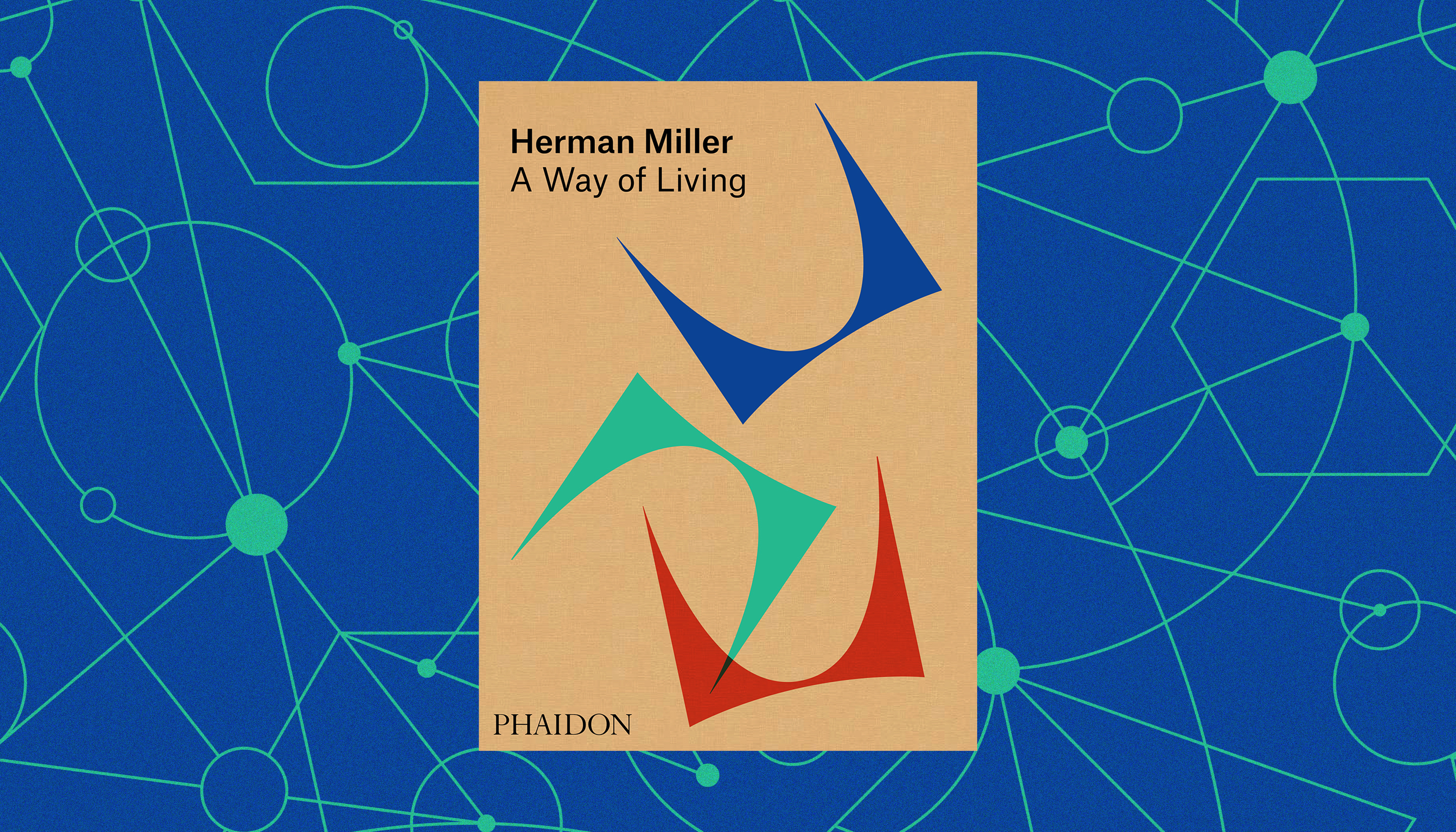 The book cover for Herman Miller A Way of Living.