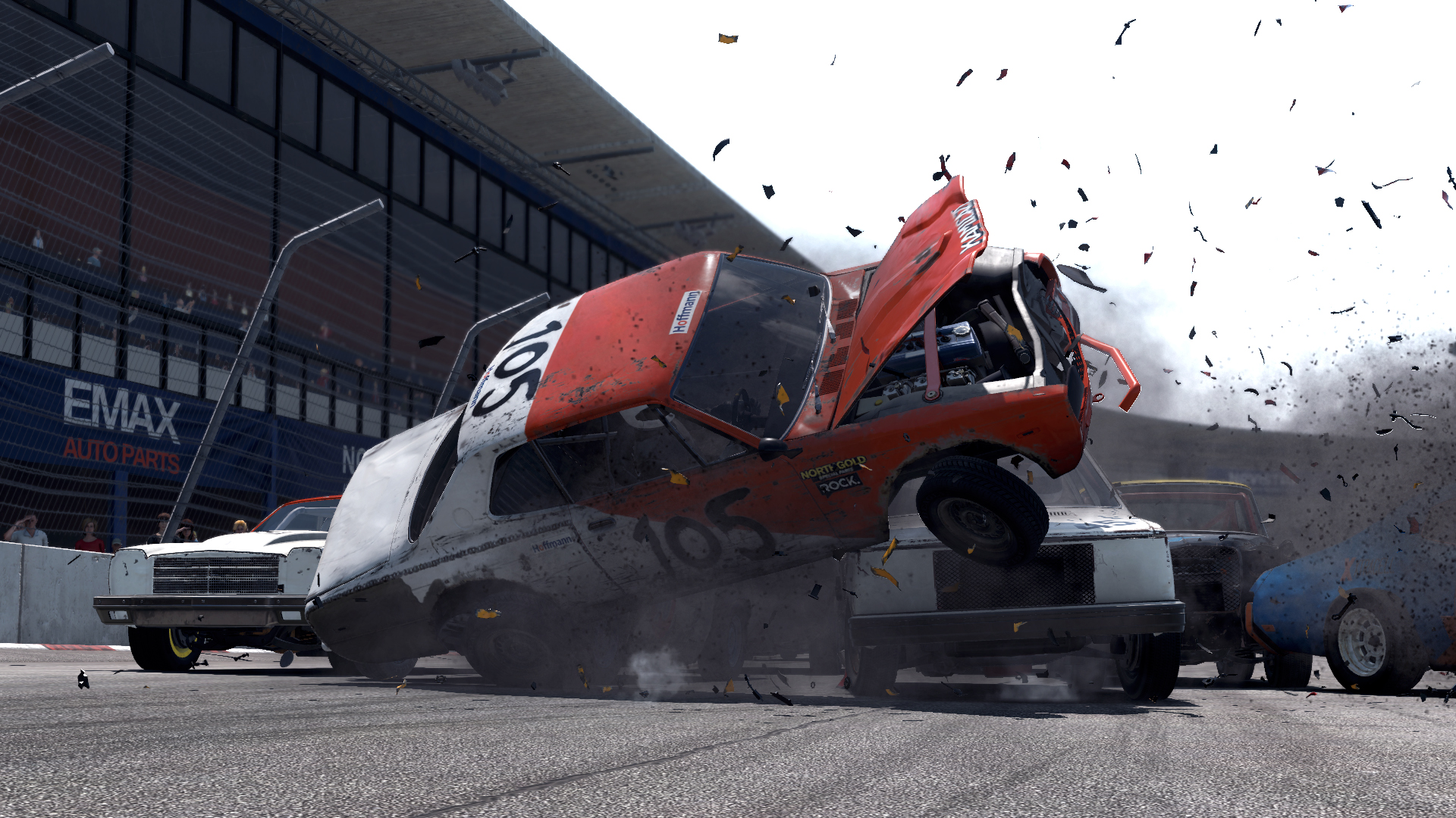 Wreckfest's beautiful disaster was the most fun I had all year
