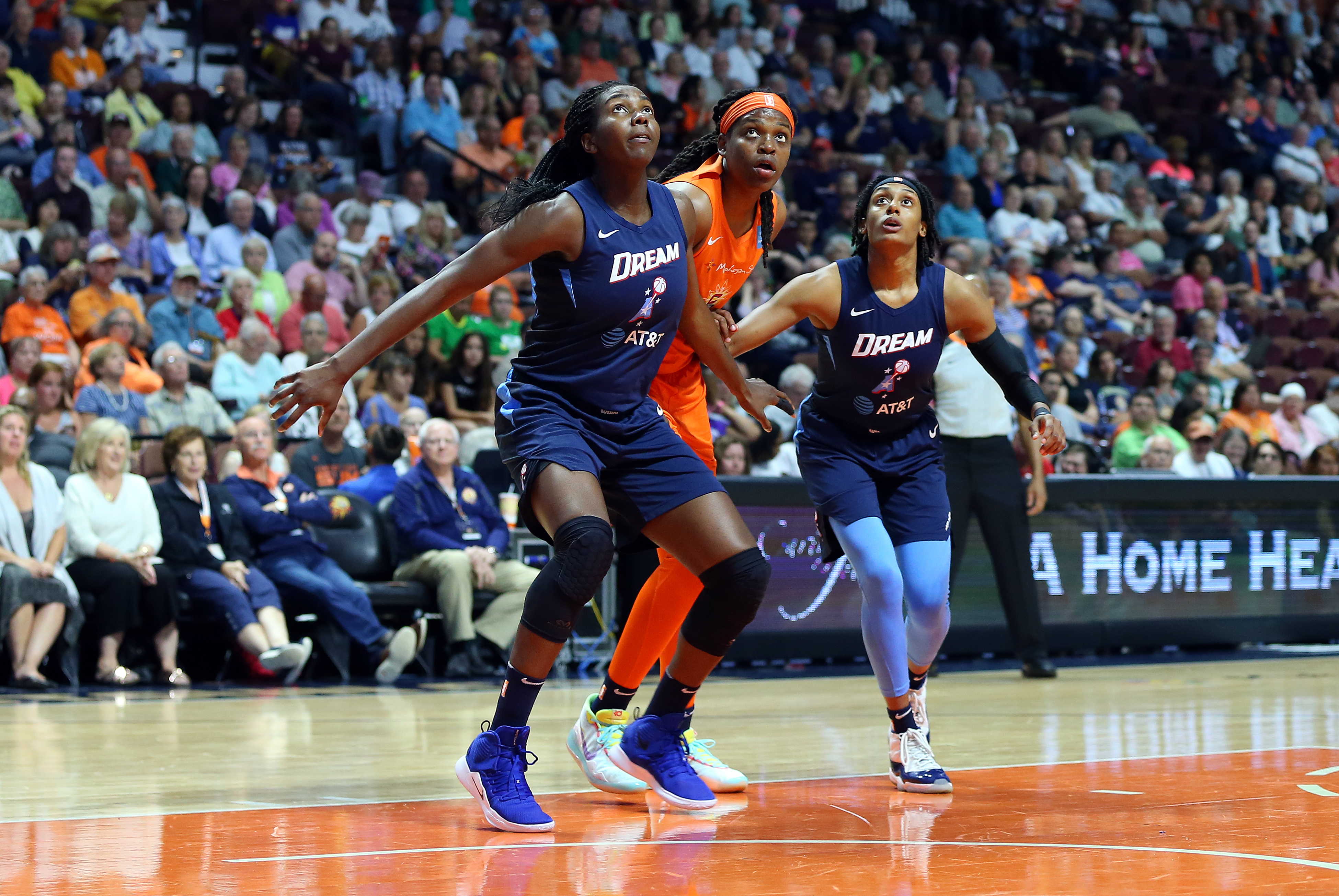 WNBA: JUL 19 Atlanta Dream at Connecticut Sun
