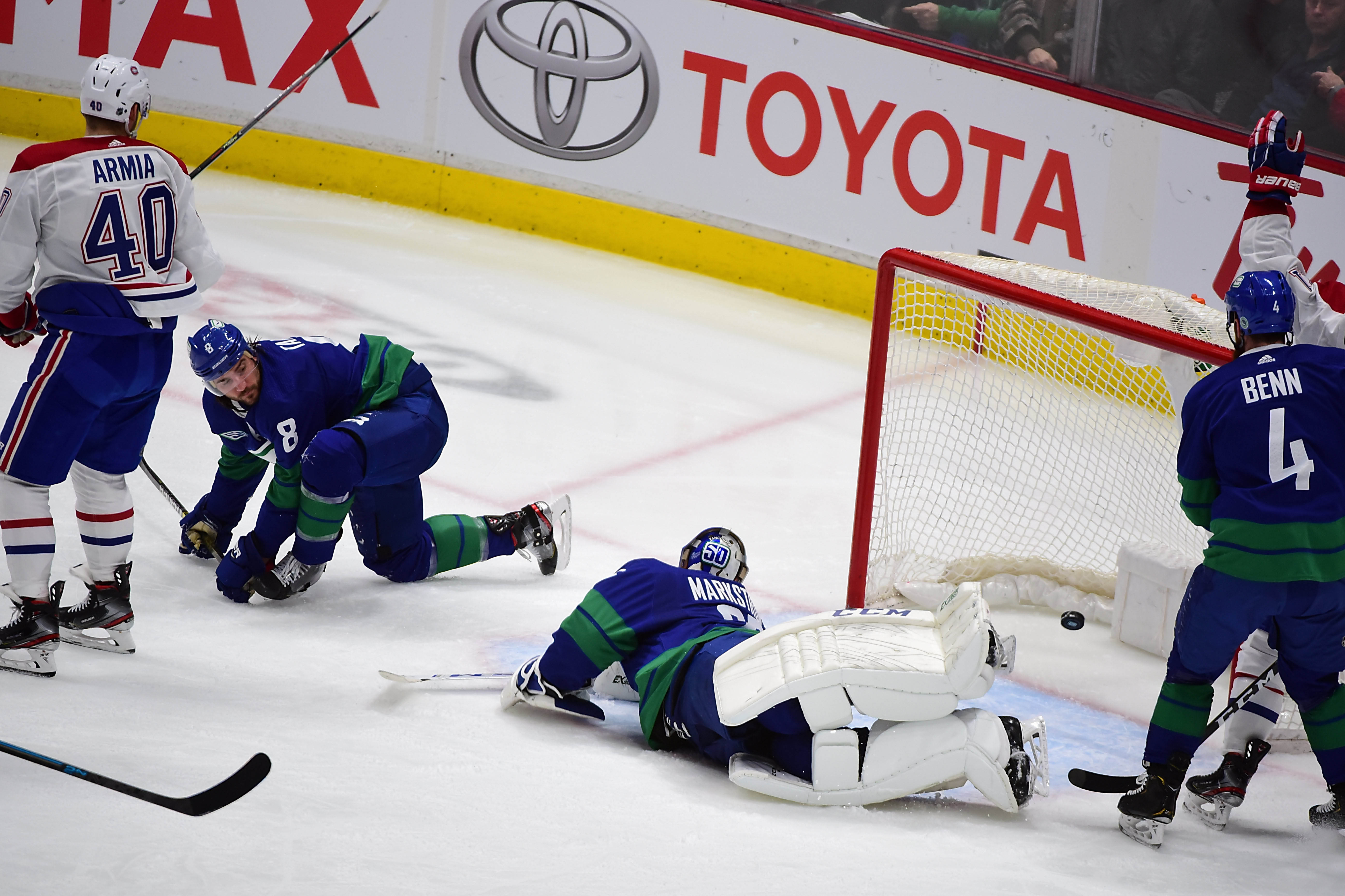 NHL: Montreal Canadiens at Vancouver Canucks