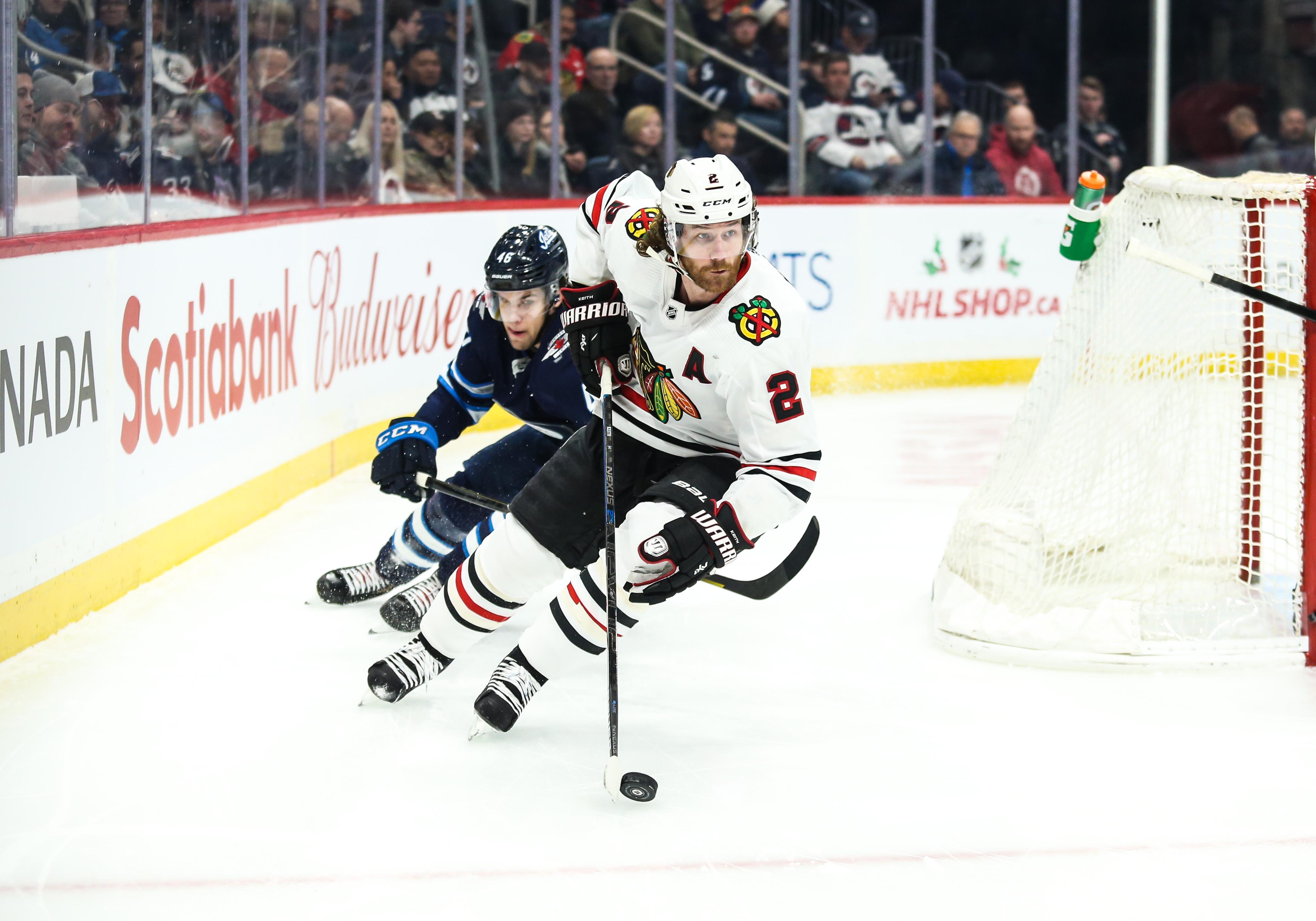 NHL: DEC 19 Blackhawks at Jets