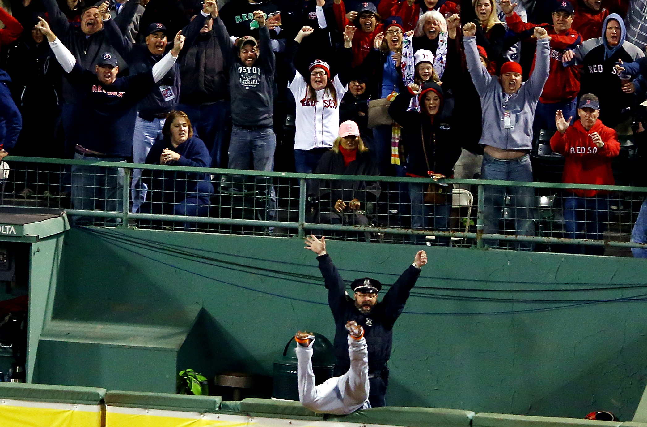 ALCS - Detroit Tigers v Boston Red Sox - Game Two