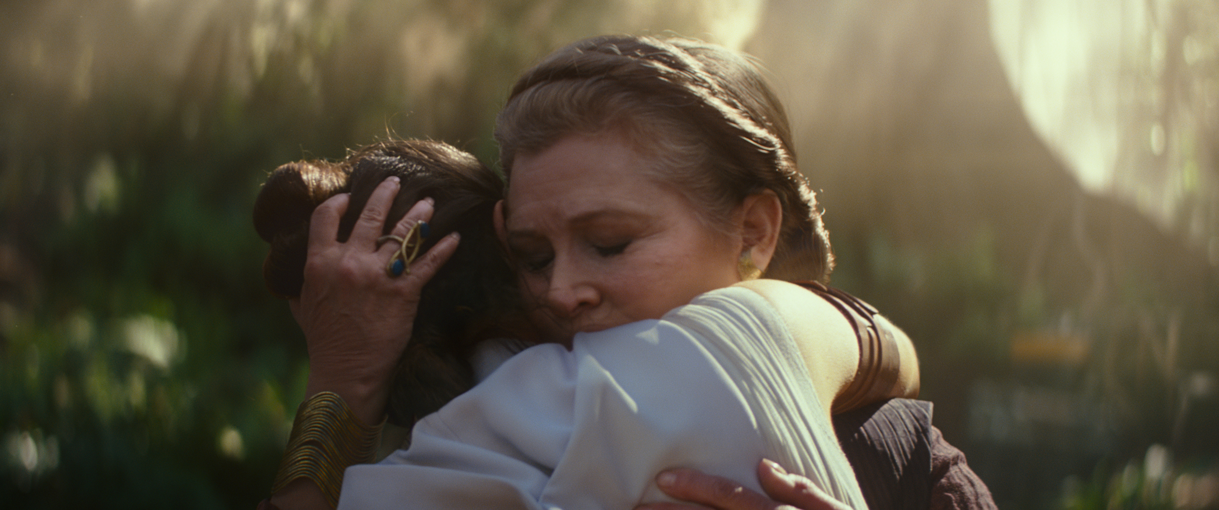 Keeping Leia in The Rise of Skywalker came at a cost